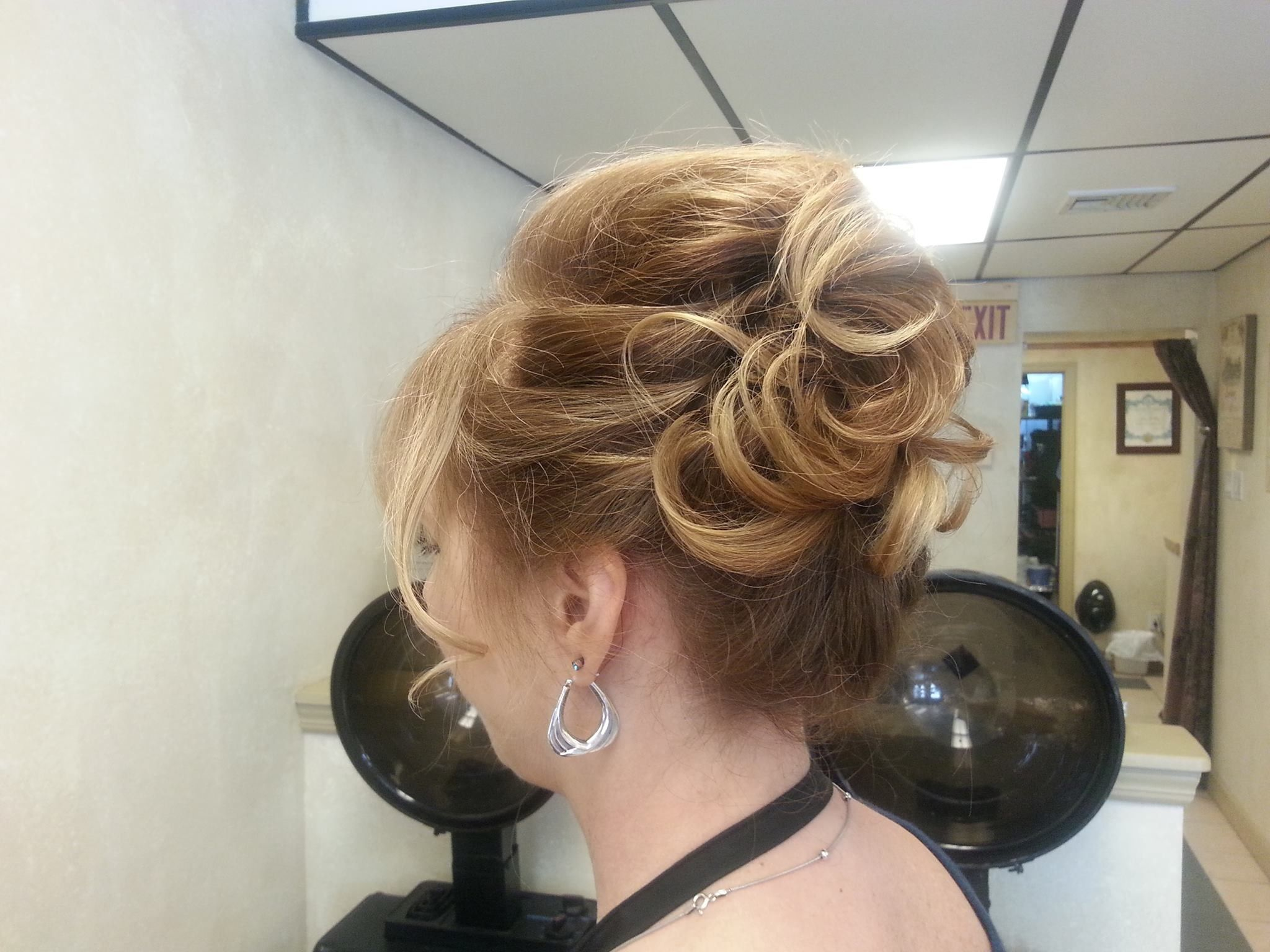 Wedding up do for over 40 hair | Hair styles | Pinterest