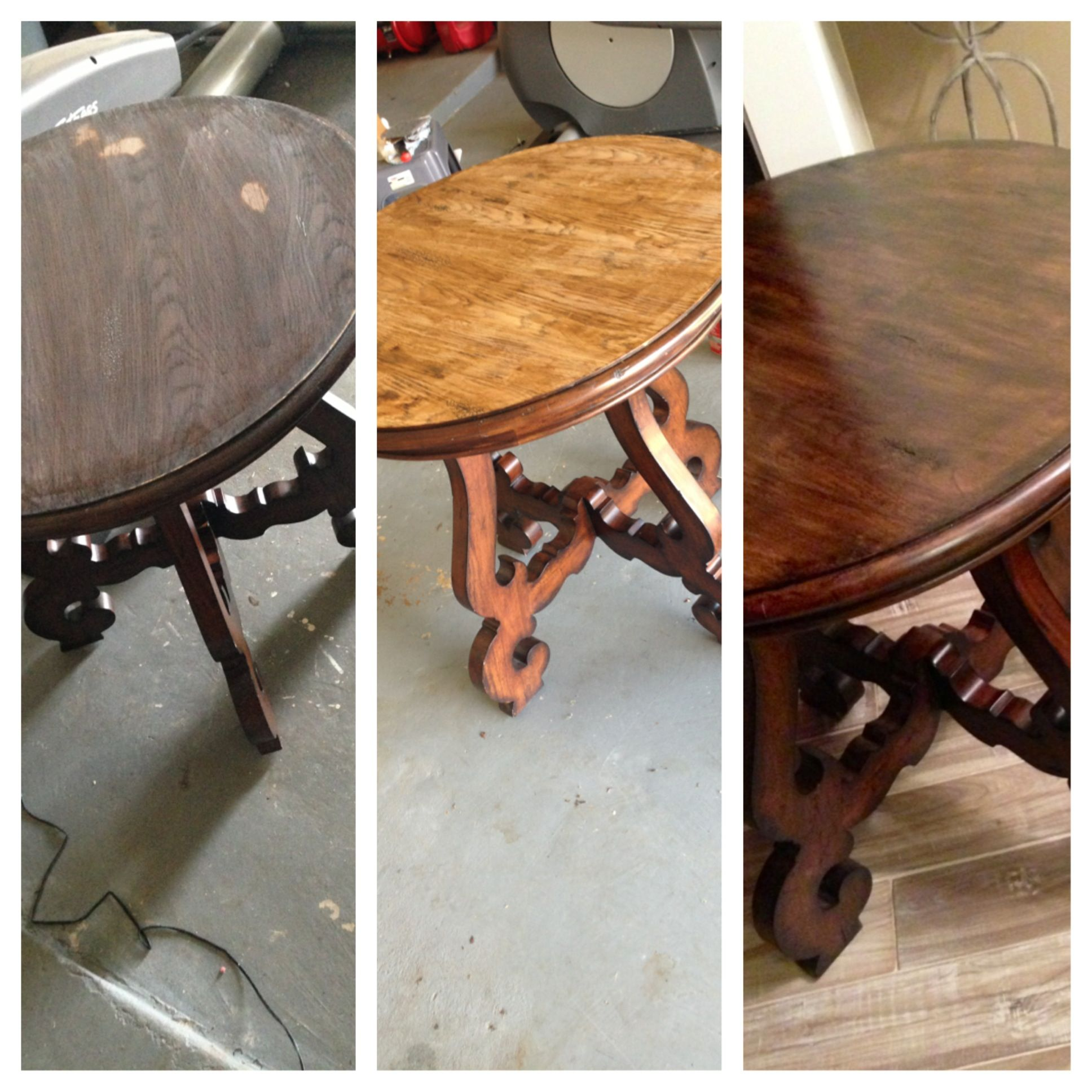Table Top Restore After Acetone Spill DIY Projects Pinterest. Full resolution  photograph, nominally Width 1936 Height 1936 pixels, photograph with #9E652D.