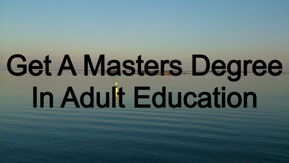Opinion you diploma in adult education topic