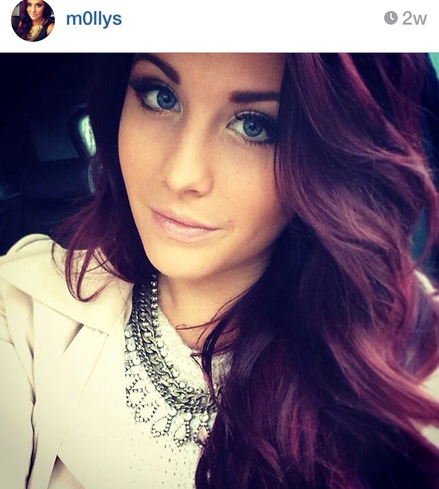 Eggplant Hair Color | Dark Brown Hairs