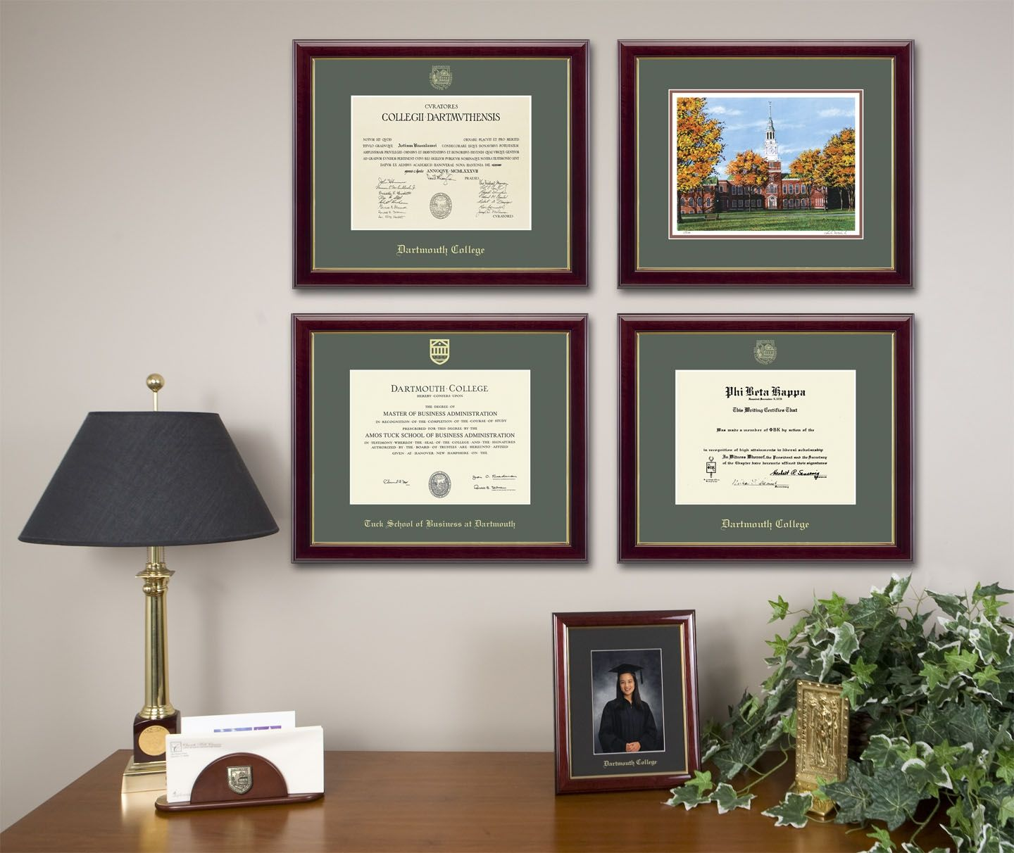 Framed wall pictures for office