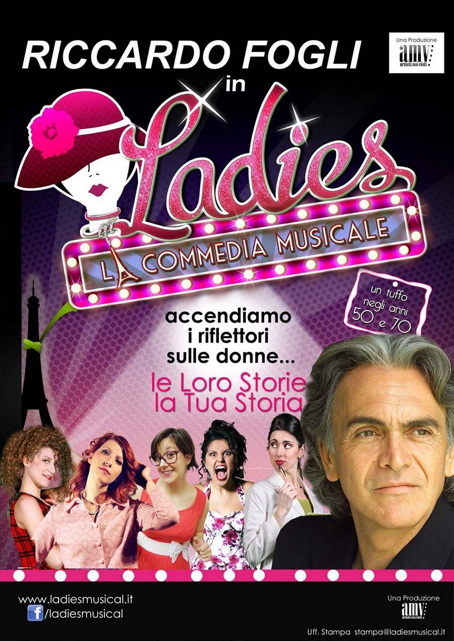 Ladies la commedia musicale con Riccardo Fogli