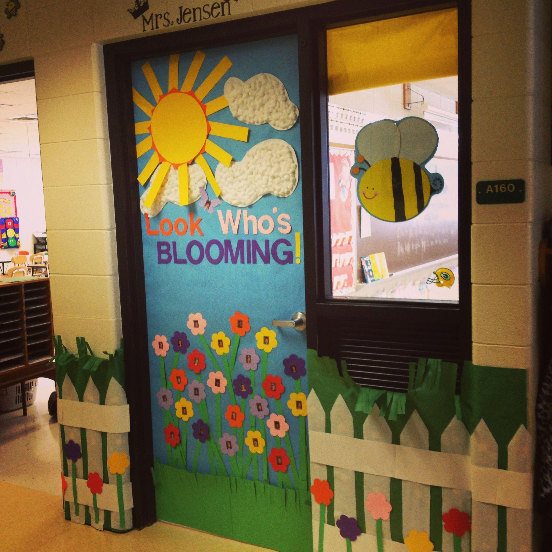 My Spring Inspired Door For 2014 Classroom Door