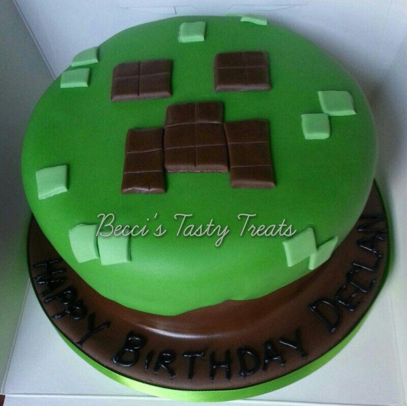 Decorating Ideas > Minecraft Cake  Birthday Ideas  Pinterest ~ 024119_Cake Decorating Ideas Minecraft