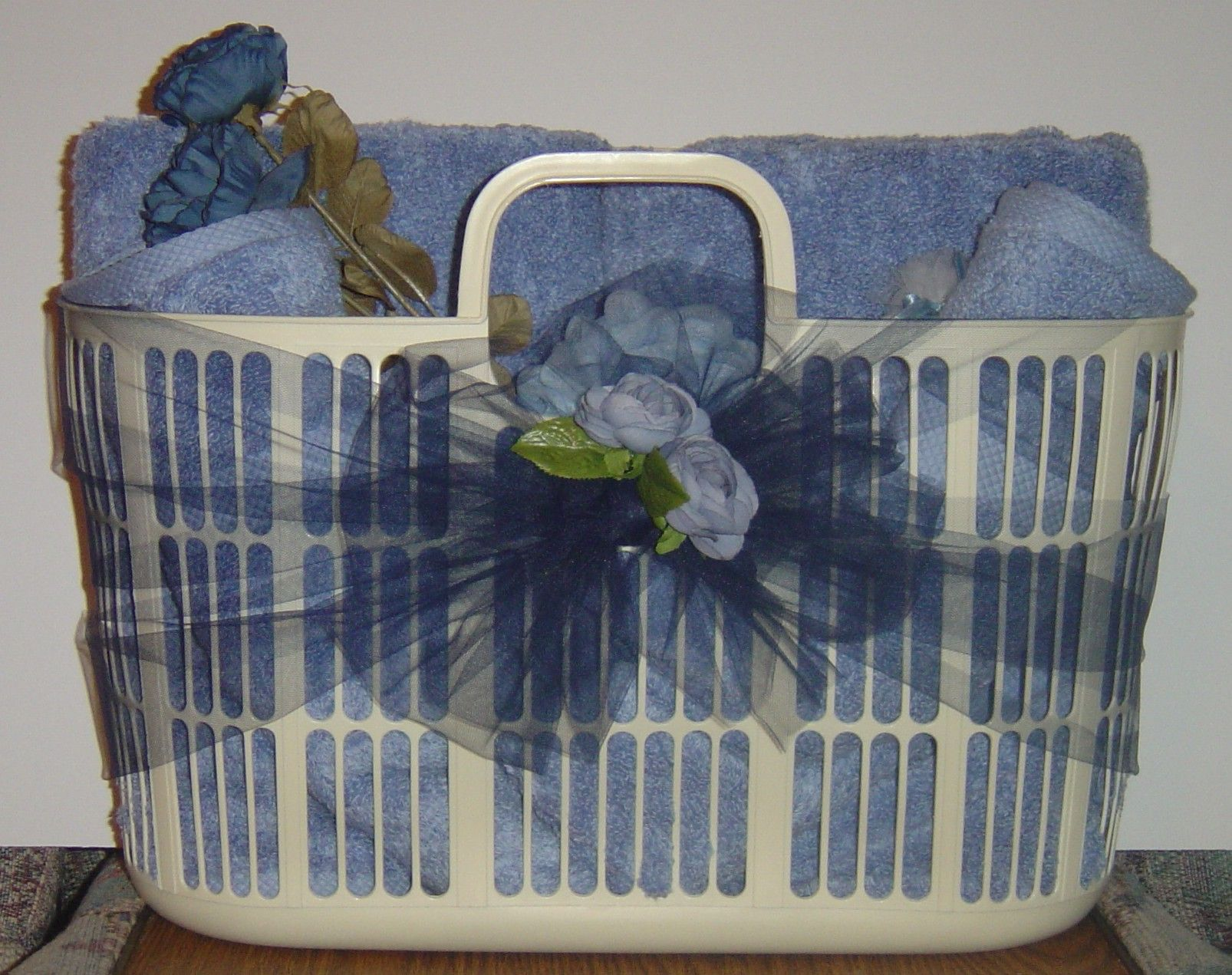 towel filled laundry basket gift ideas pinterest