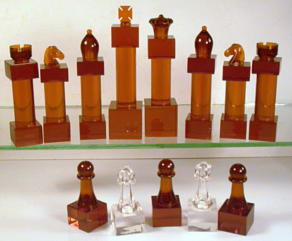 Mid Century Chess Set Mid Century And Cool Chess Sets