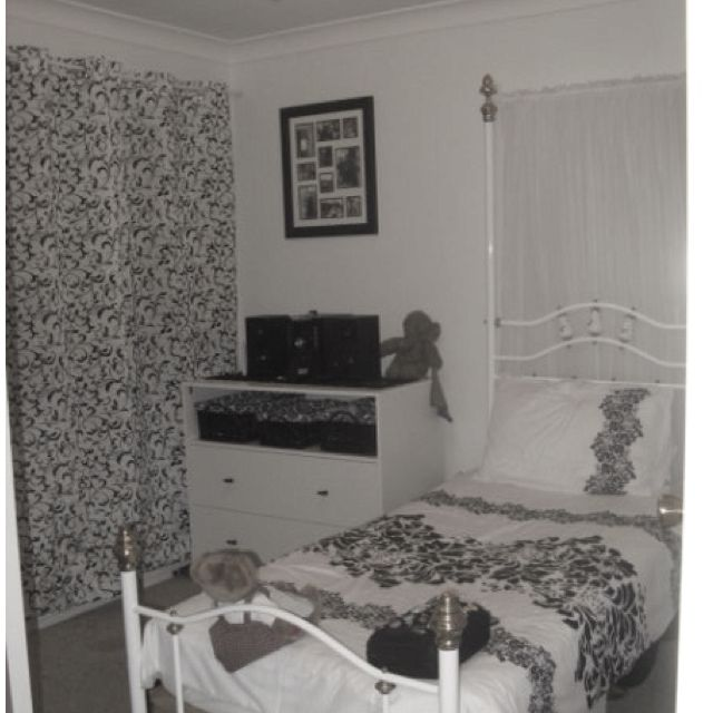 my black and white bedroom makeover bedrooms pinterest