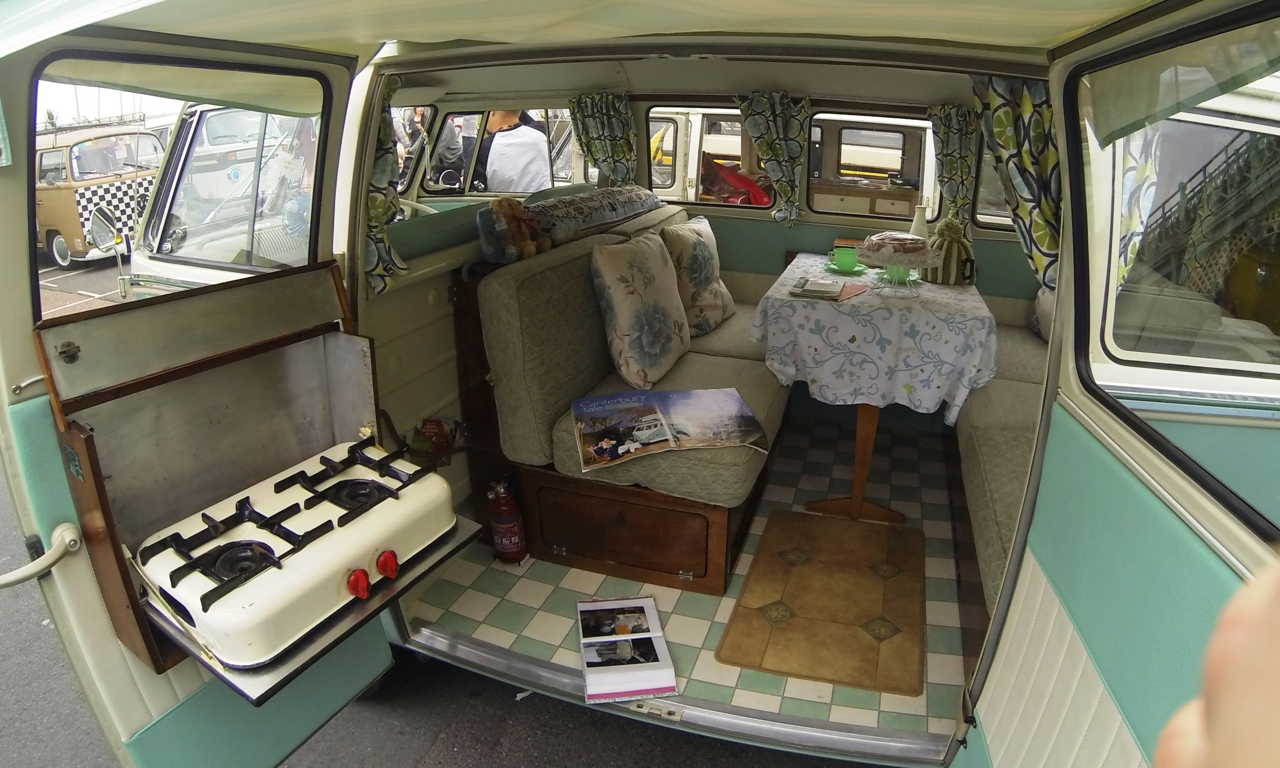 vw camper interior Camper Pinterest