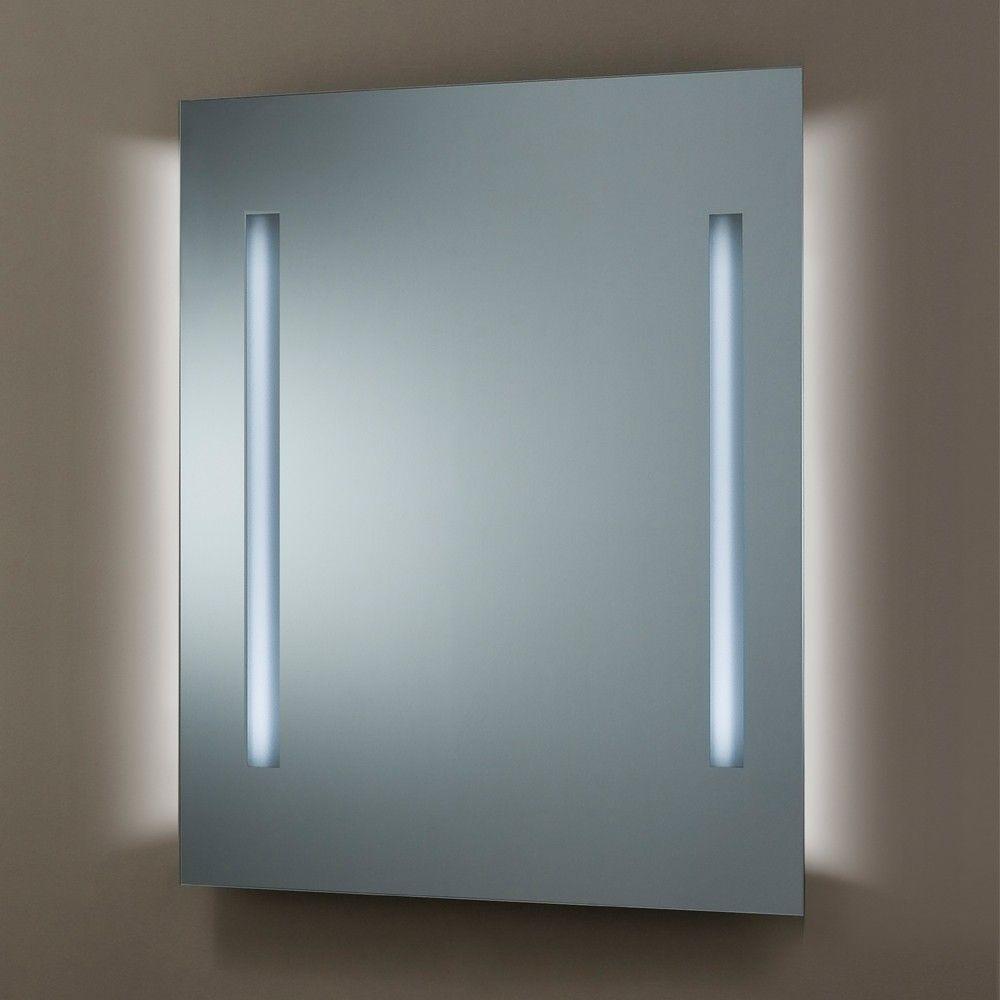 Miroir Lumineux LED  Salle de bain  © For Home  Pinterest