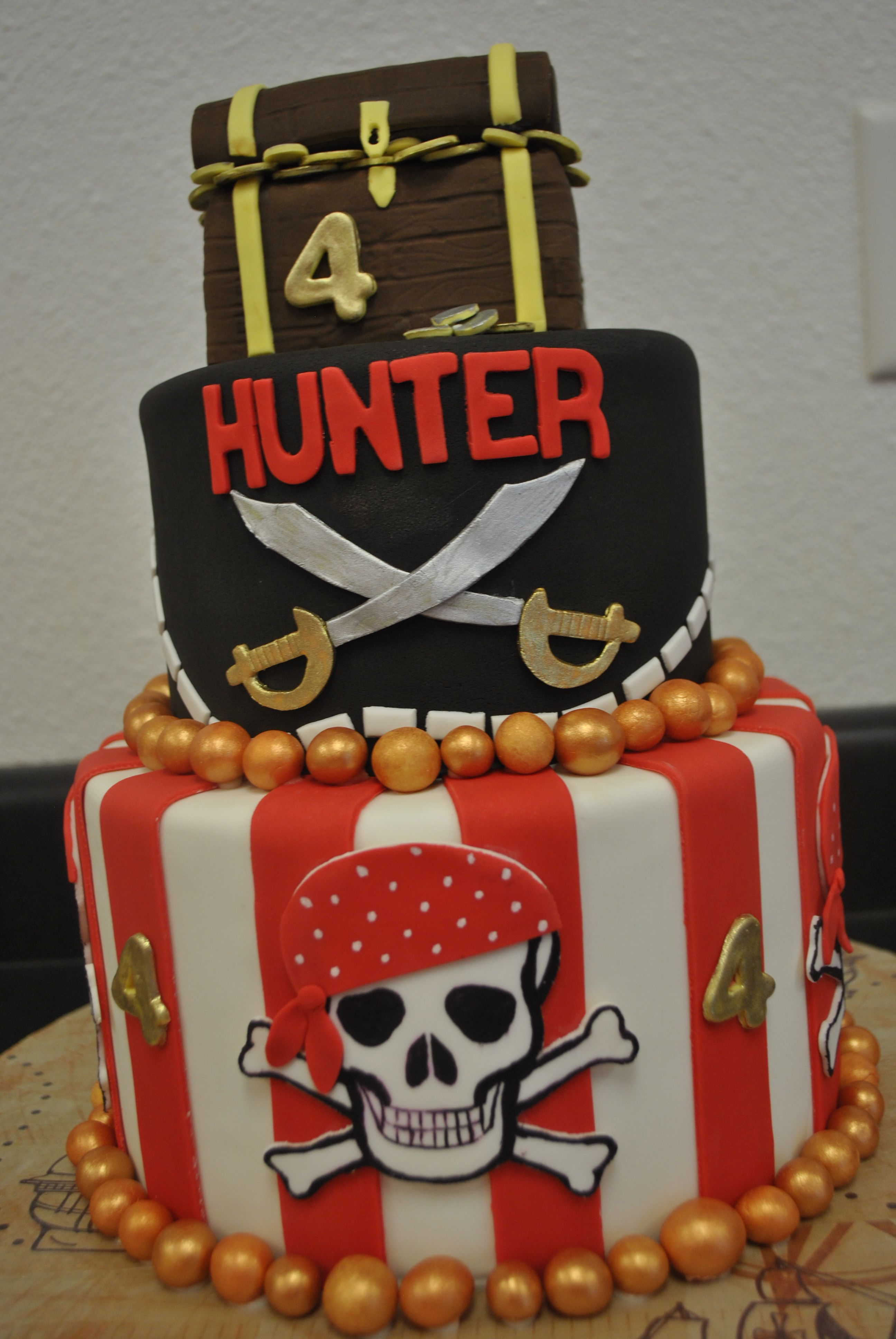Images Pirate Birthday Cake : pirate cake Cakes, Cupcakes and More! Pinterest