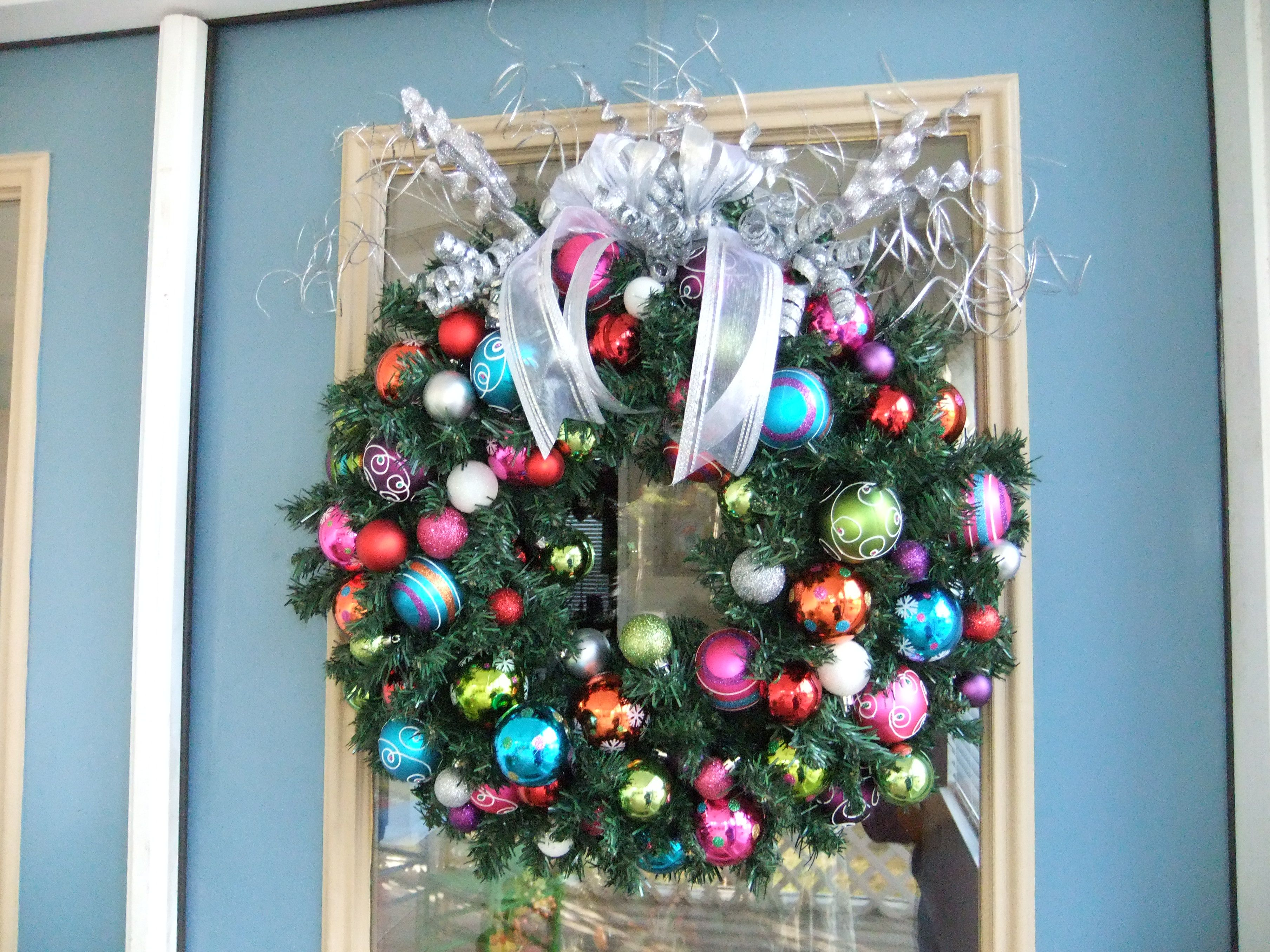 christmas wreath crafts pinterest