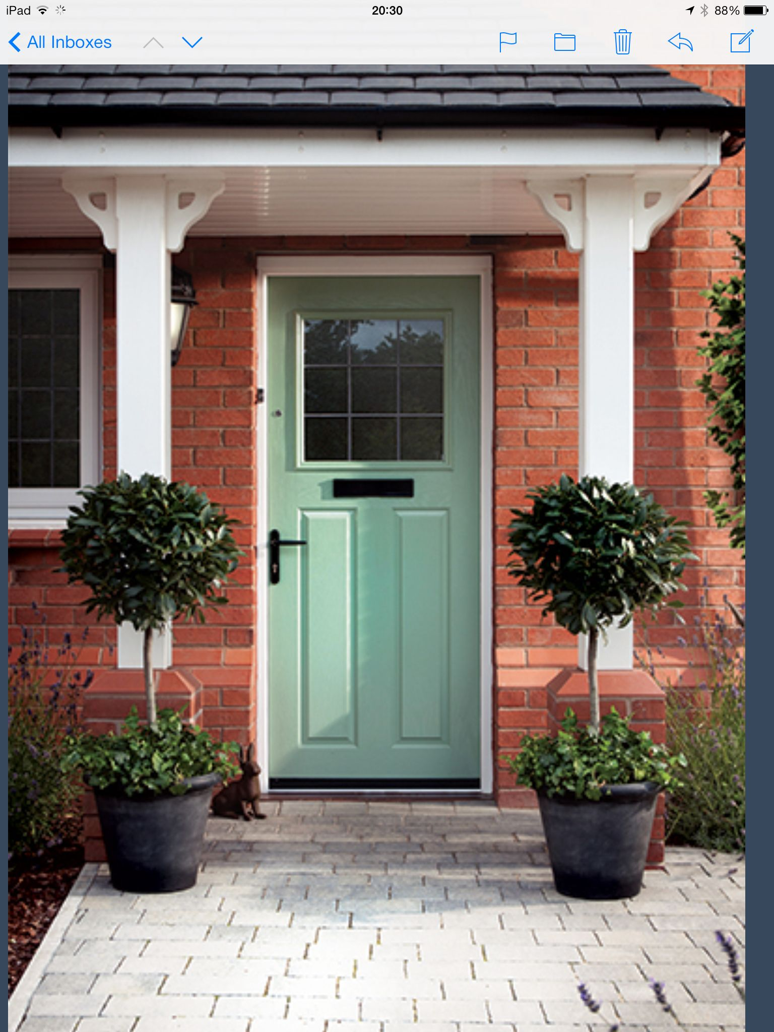 Front door country home and gardens pinterest for Country front doors