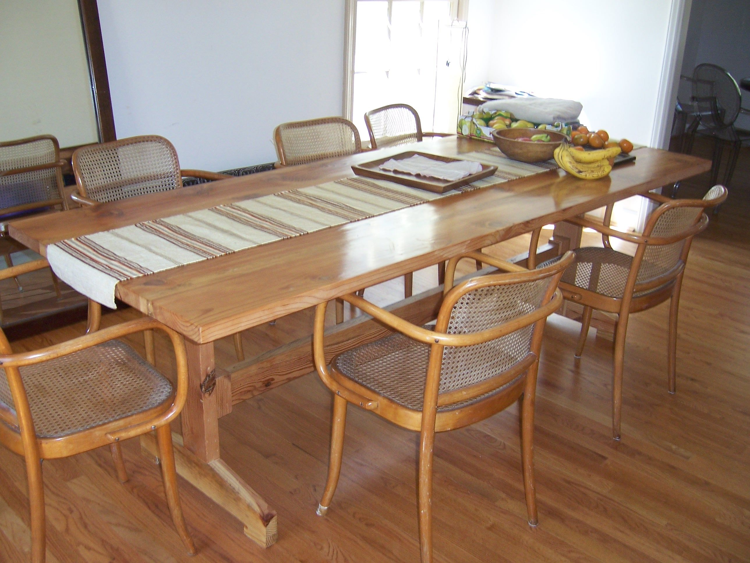 Trestle Table Dining Tables Pinterest
