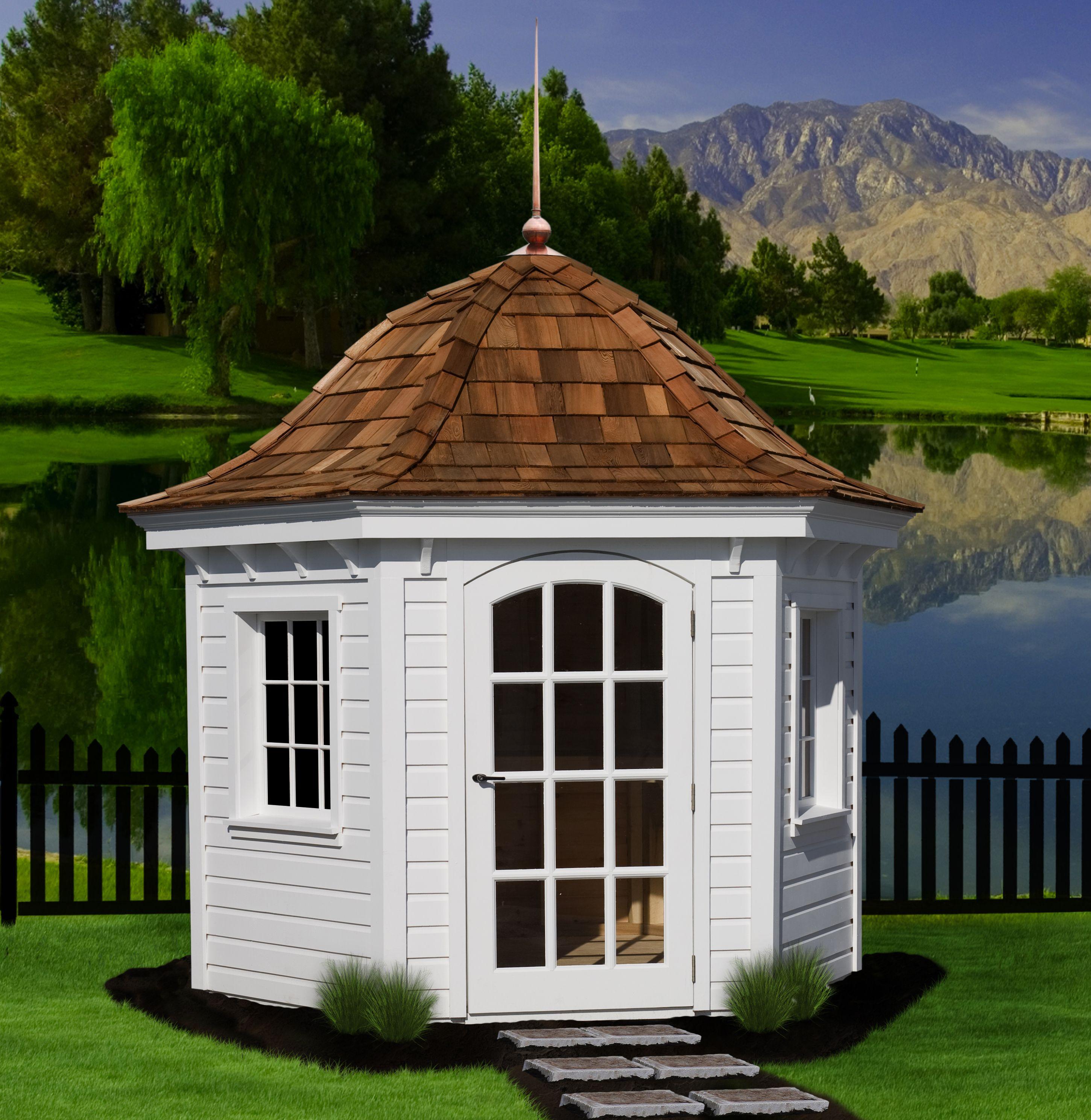 Amish garden bell shed Beloved Pinterest