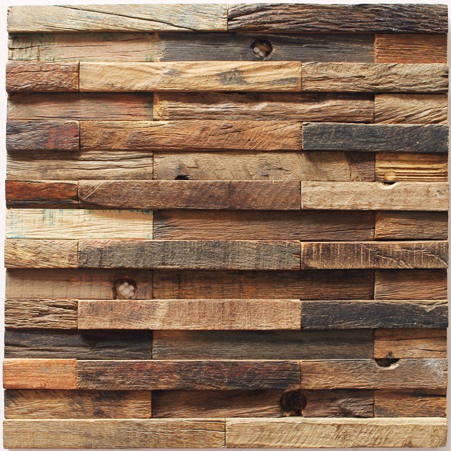 Плитка из дерева для стен своими руками