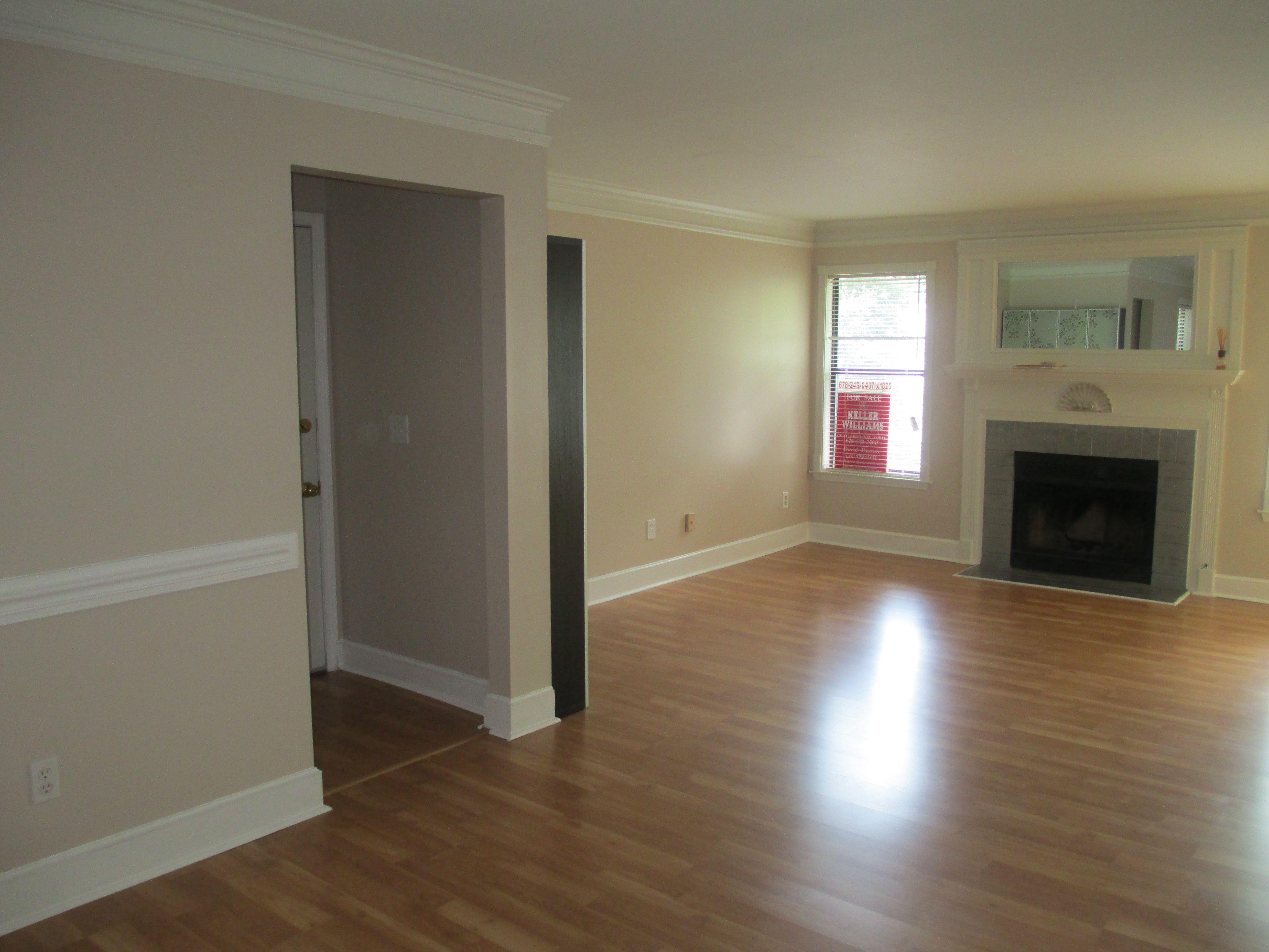 empty living room | Home Sweet Home | Pinterest