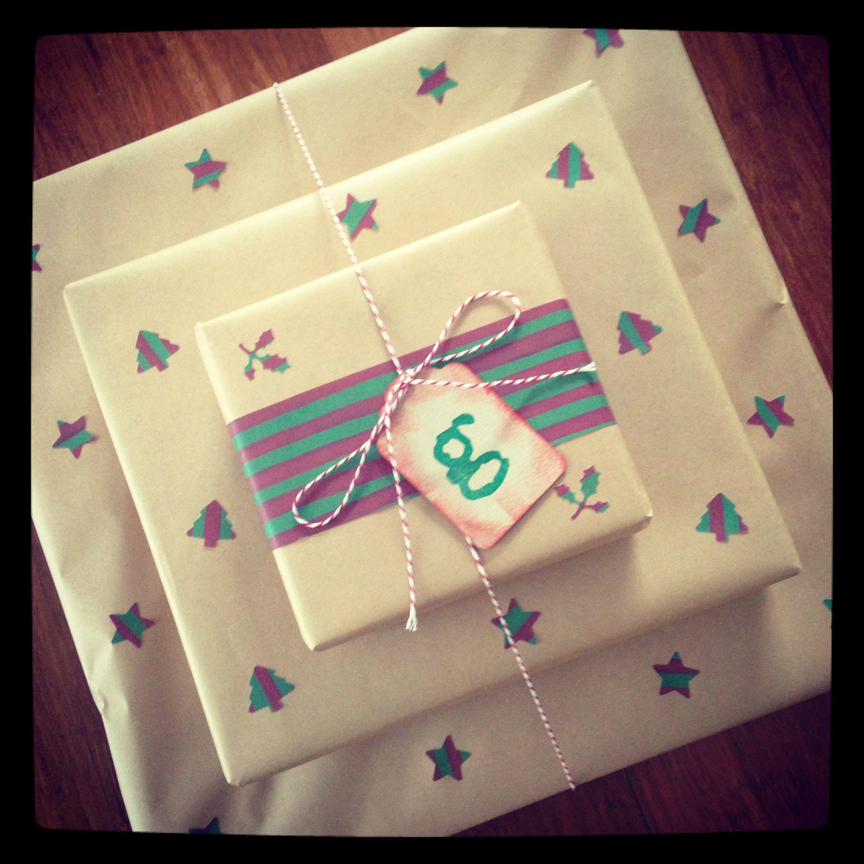 Christmas gift wrapping | Paper Reverie Design Studio | Pinterest