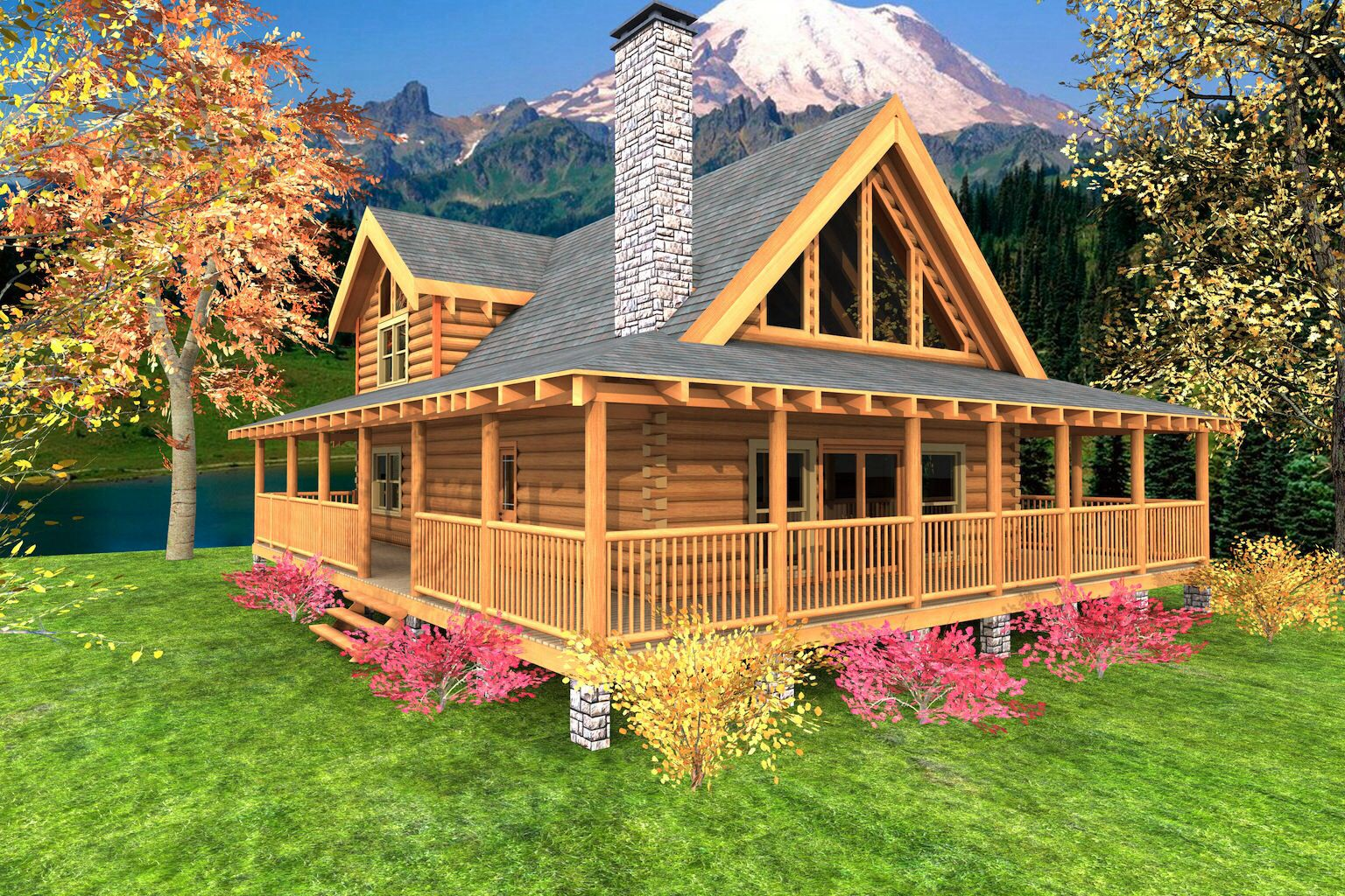 Wrap Around Porch Dream Home Pinterest