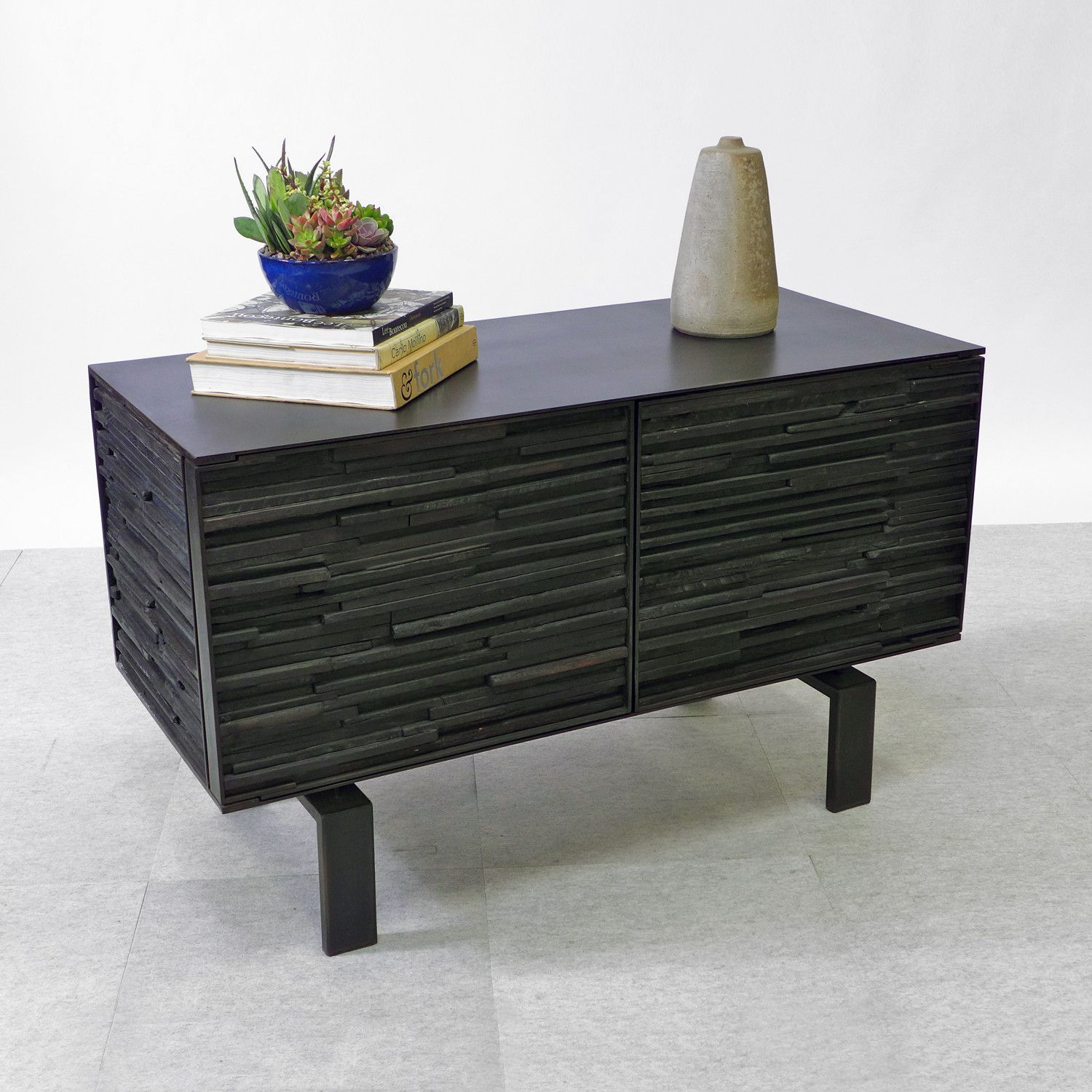 contemporary charred furniture furniture and art
