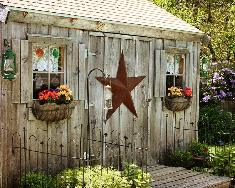 Plan From Making a sheds: Rustic garden shed
