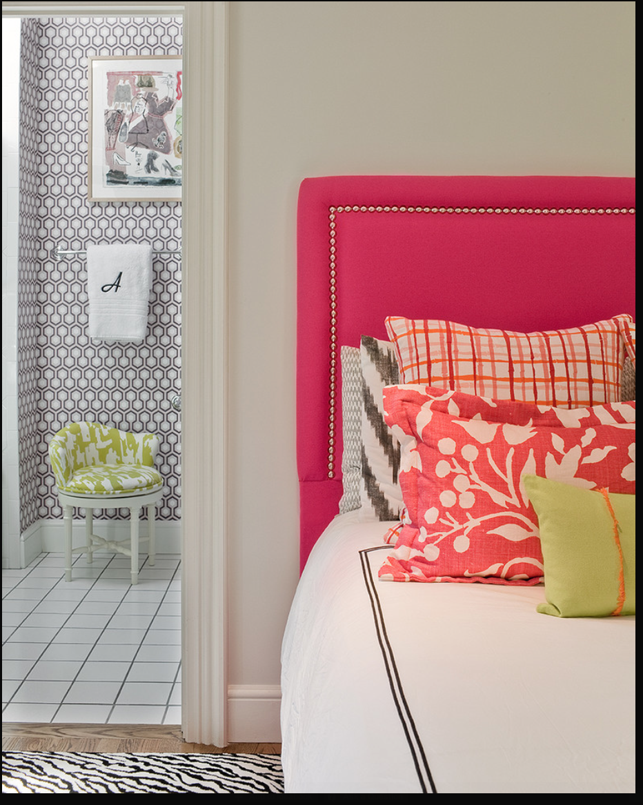 Cabeceira | Teen Girl Bedroom | Pinterest