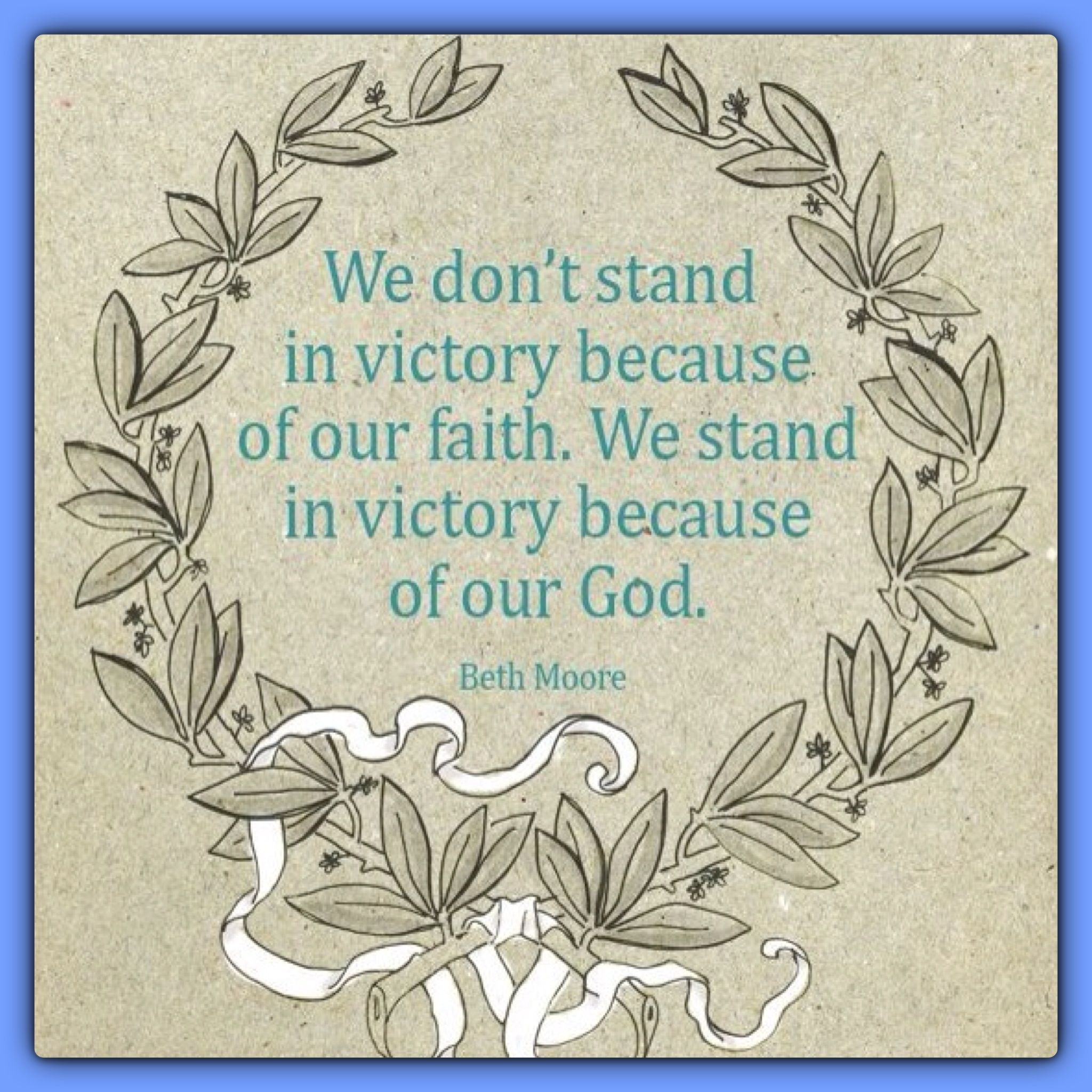 victory in christ Victory in christ it's what many christians want it's what we've been promised by  christ himself but a number of questions come to my mind,.