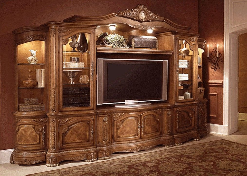 Entertainment center living rooms family rooms home for Living room entertainment centers