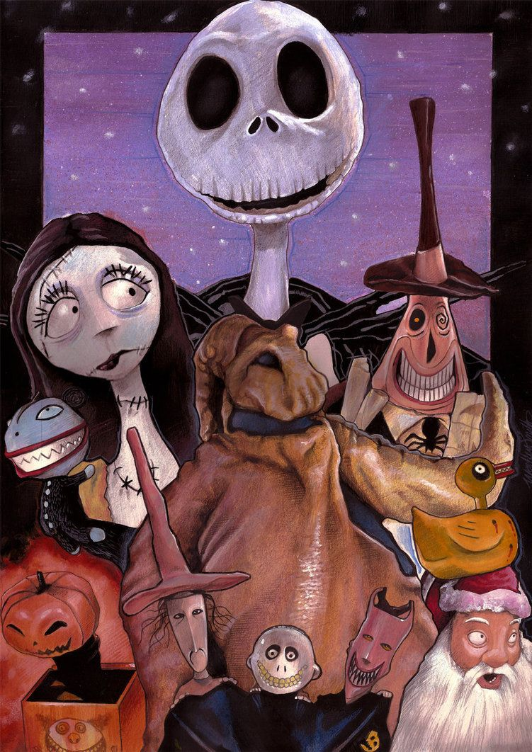 Nightmare before Xmas Cast | The Nightmare Before Christmas | Pintere ...