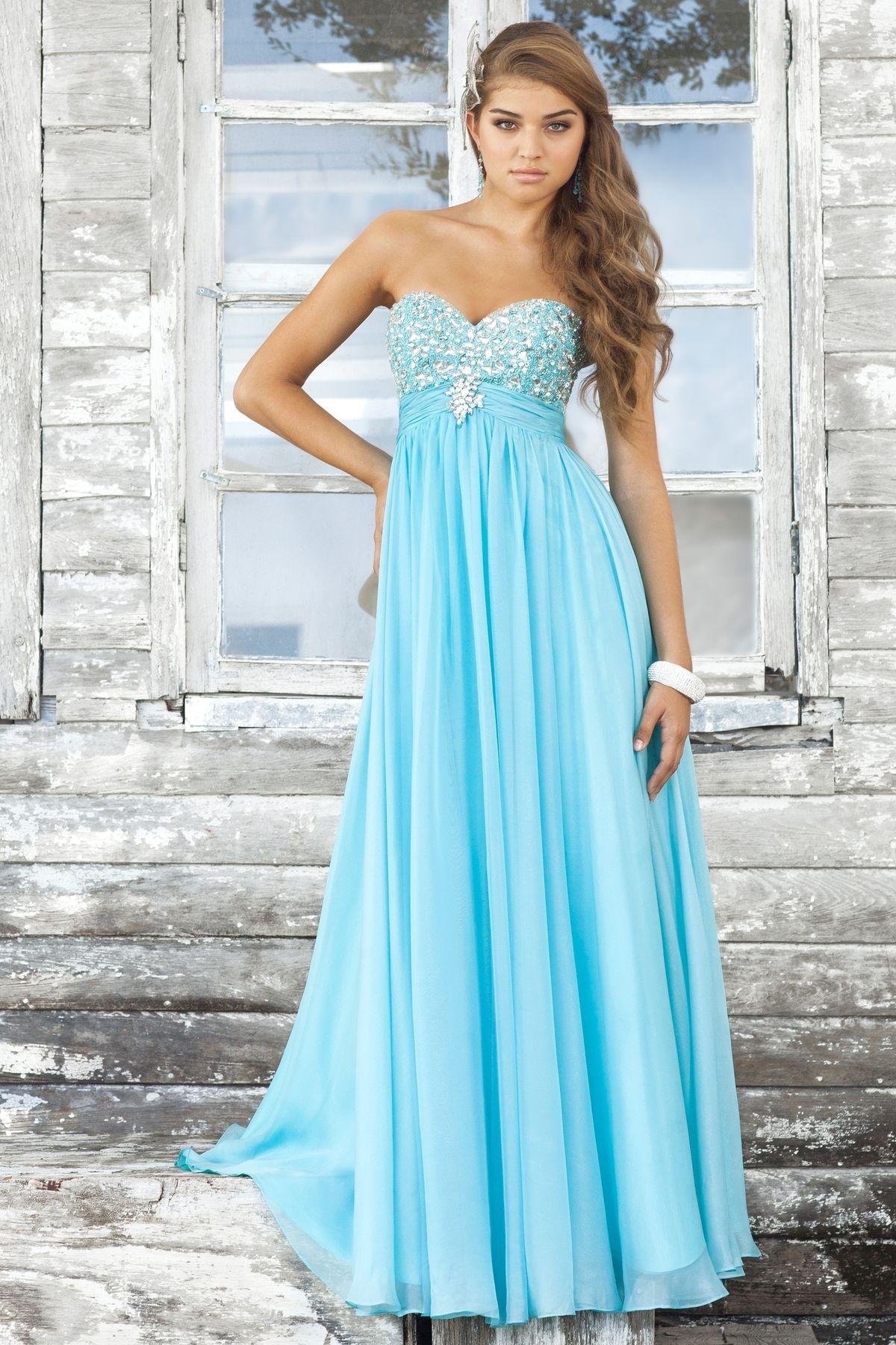 Фото длинного красивого платья на выпускной