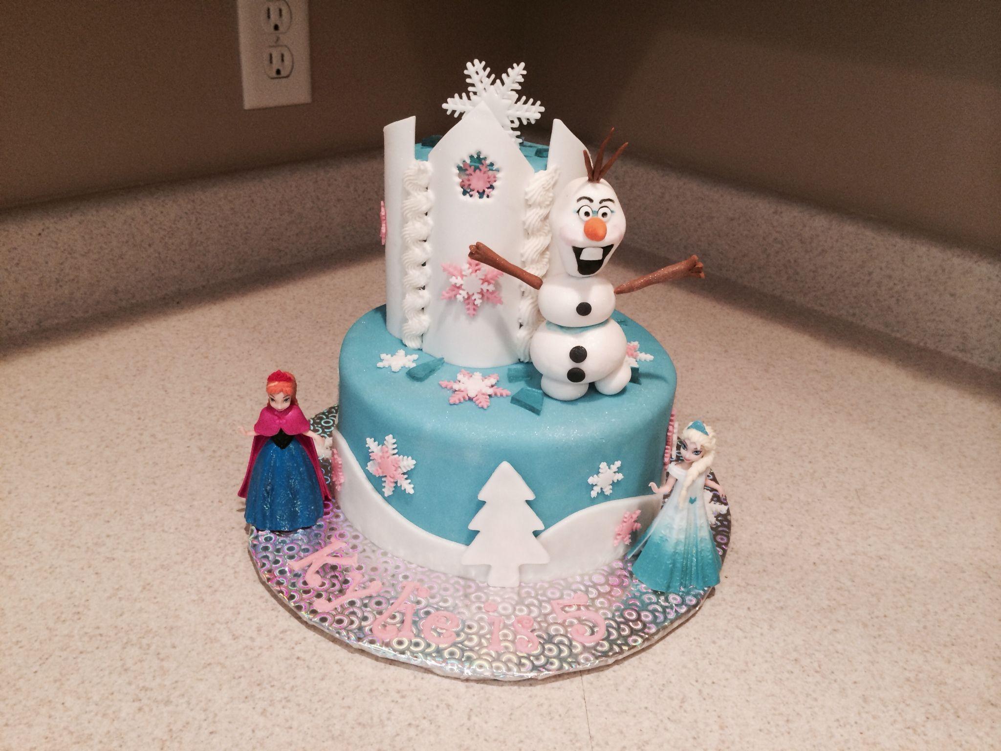 Cake Decoration Ideas Pinterest : Frozen!! Cake decorating ideas Pinterest
