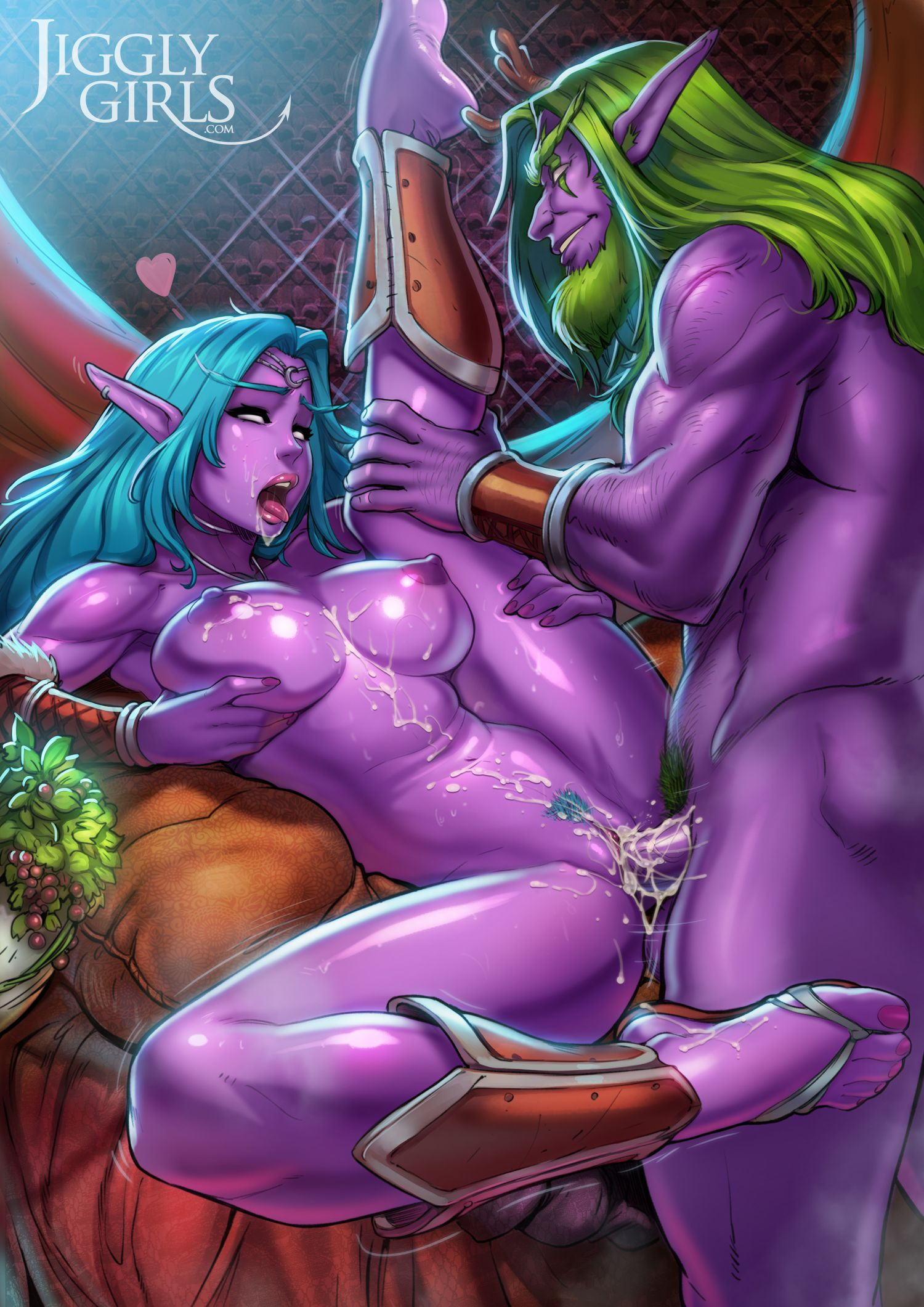 Maek up sex by world of warcraft hentai gallery
