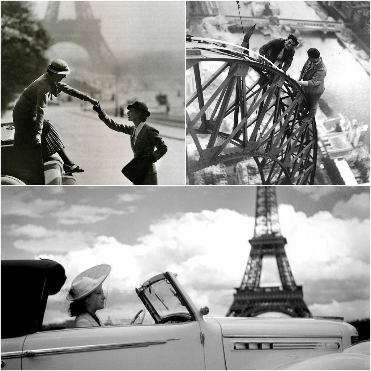 Paryż - stare fotografie Paryża