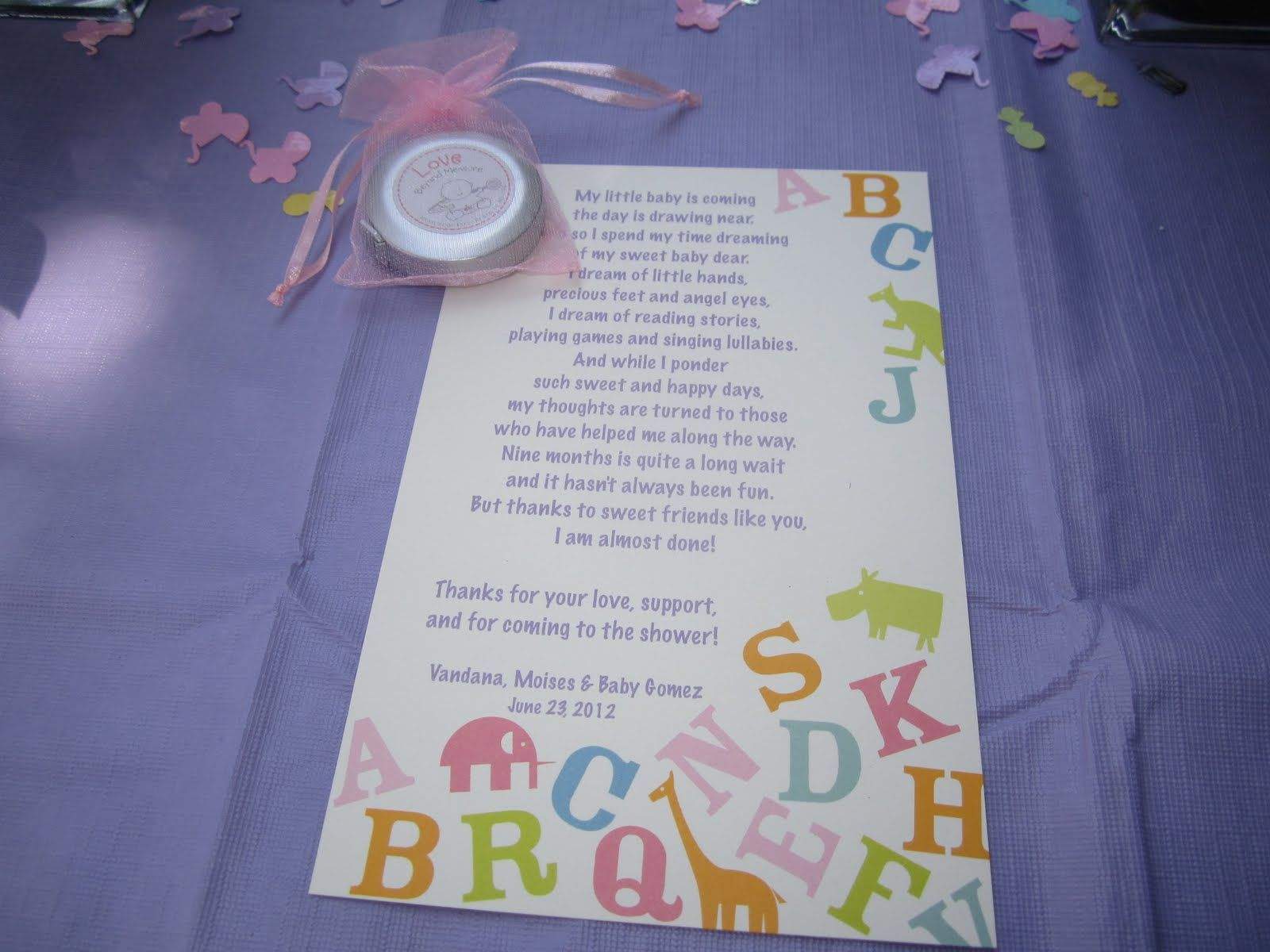 baby shower poem party ideas pinterest