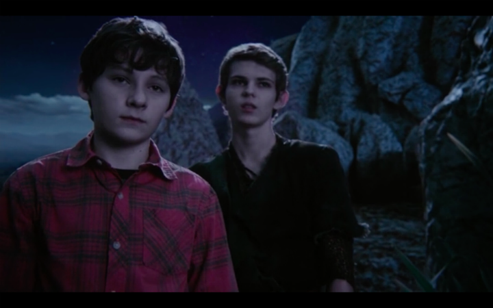 Peter Pan and Henry - Once Upon A Time | Once Upon A Time ...