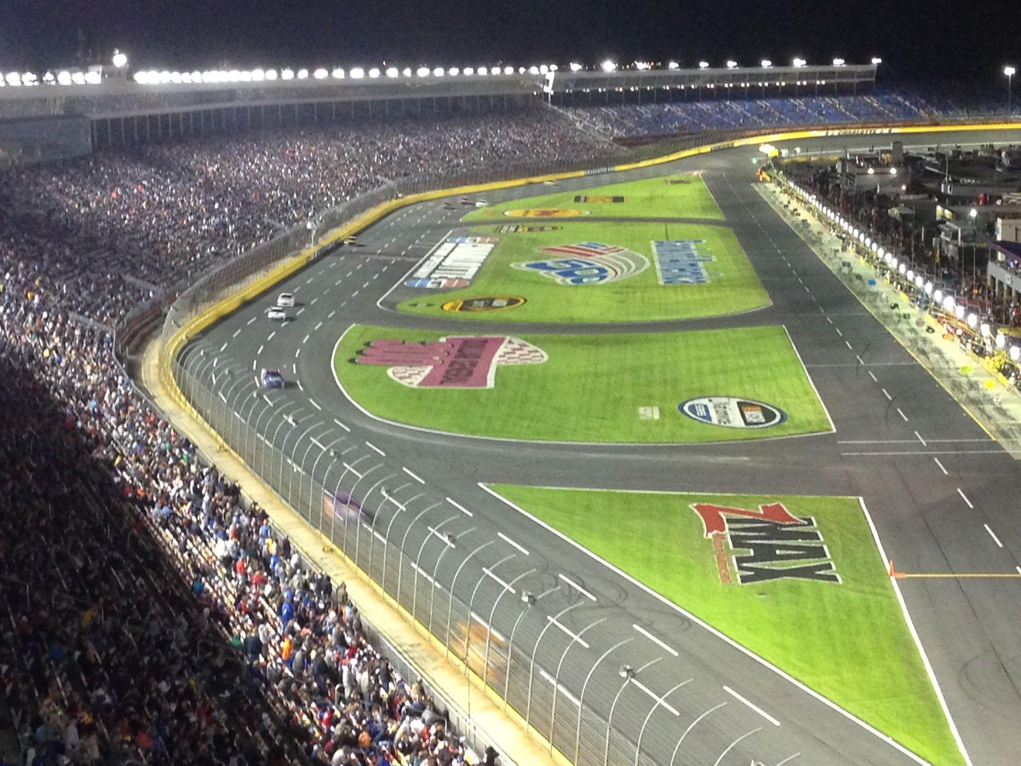 Charlotte Motor Speedway Turn Left Pinterest