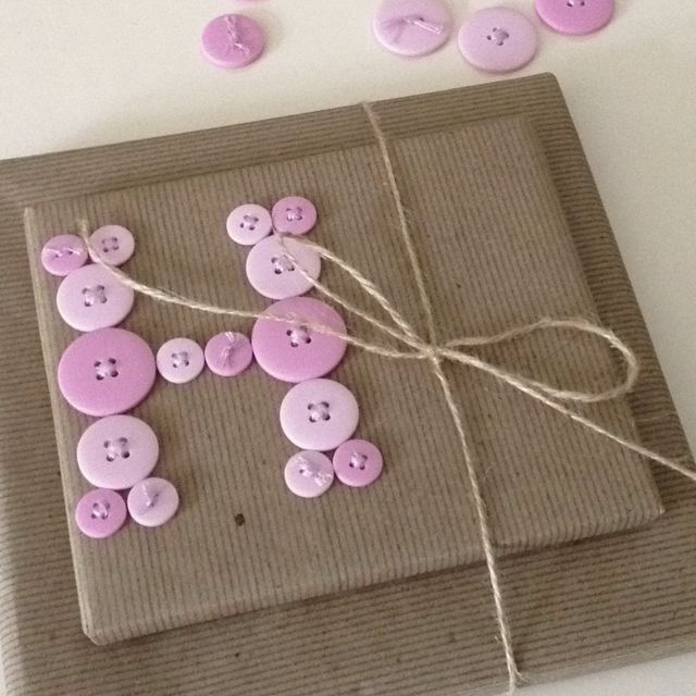 monogrammed baby shower gift wrap gifts ideas pinterest
