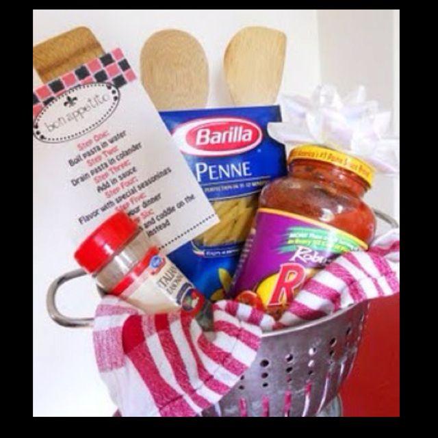 New Home Gift Basket Gift Ideas Pinterest