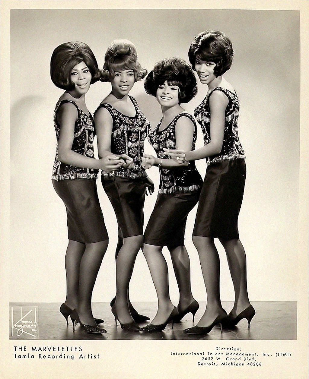 The Marvelettes Destination: Anywhere - Here I Am Baby