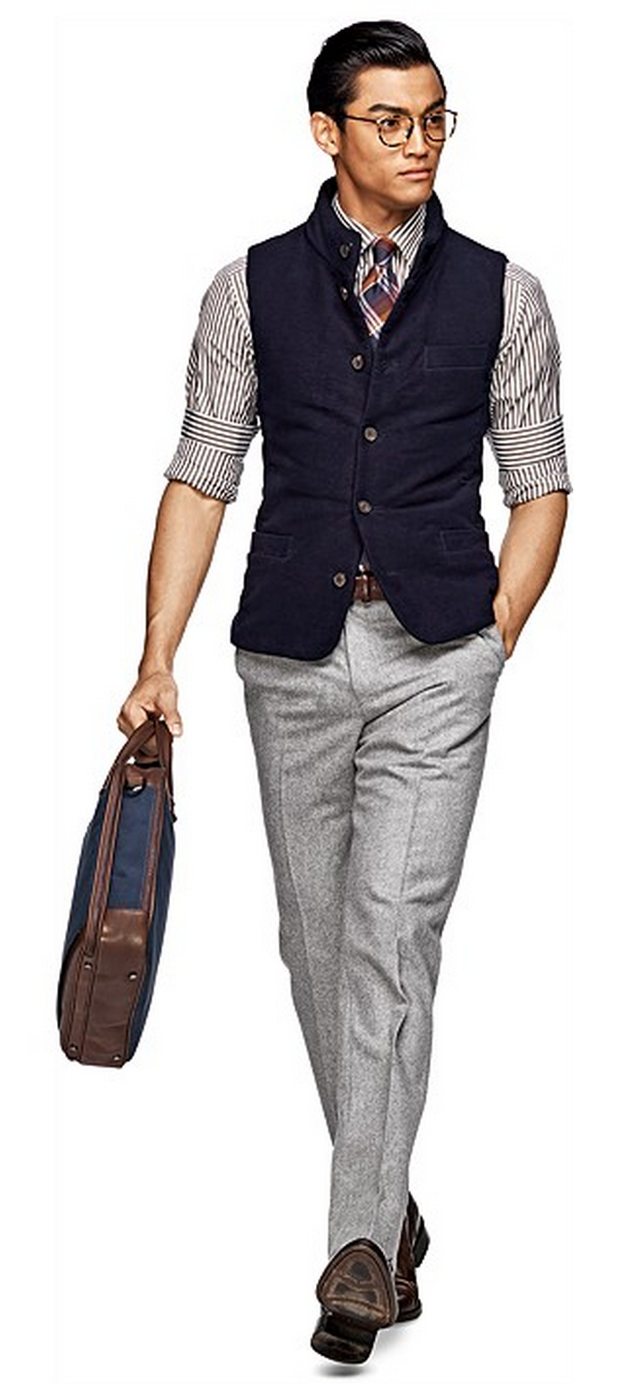 4 Step Guide To Slim-Fit Suits For Men pics