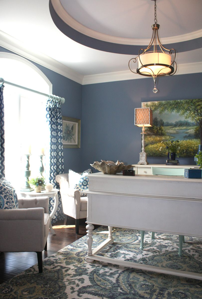 Nantucket-style home office  Decor Ideas  Pinterest
