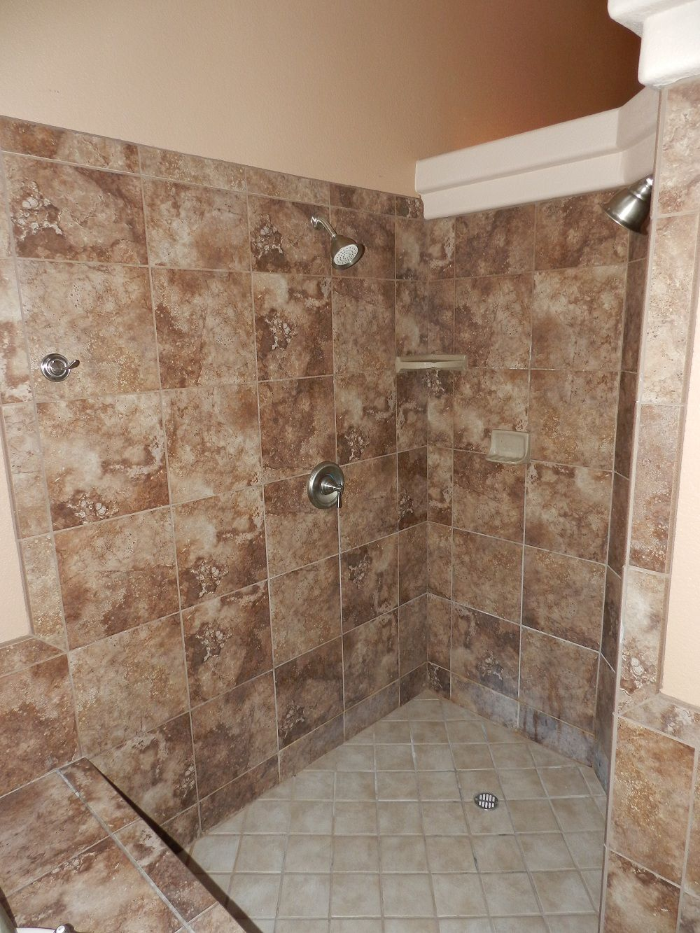 Walk In Shower Bathroom Pinterest