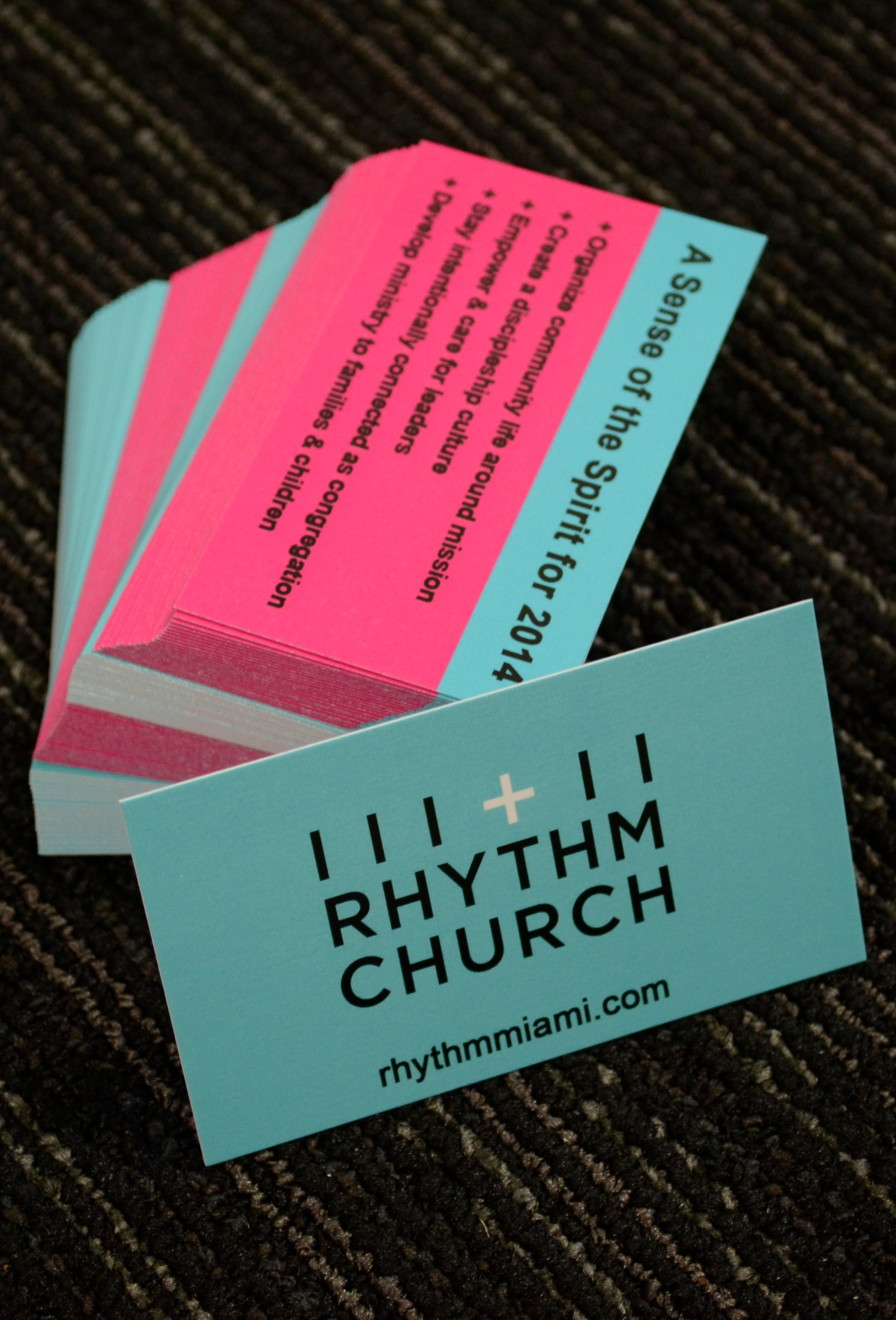 Church business cards Printing and Branding