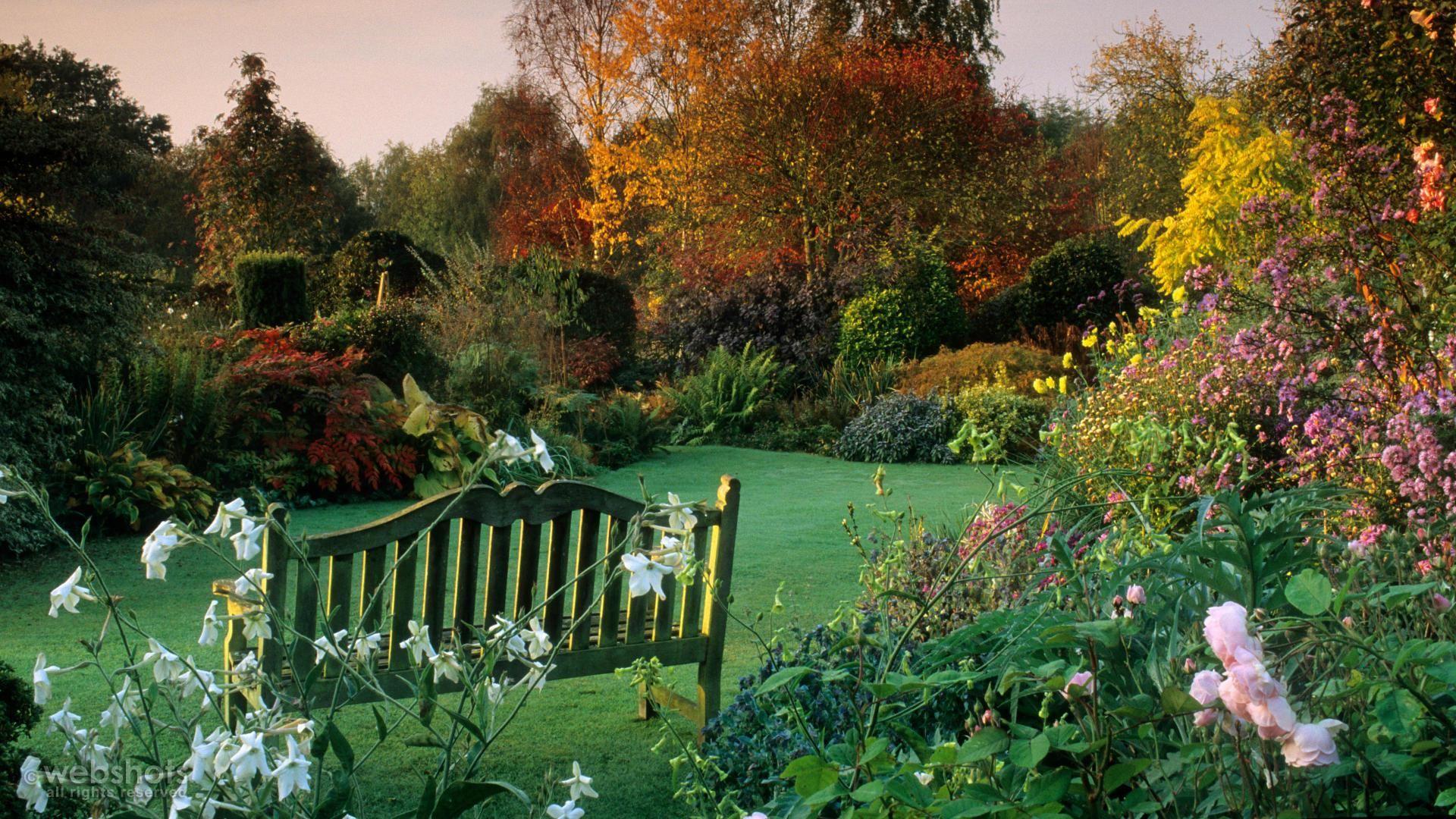Eastgrove cottage garden in autumn fall pinterest - Gardening in fall ...