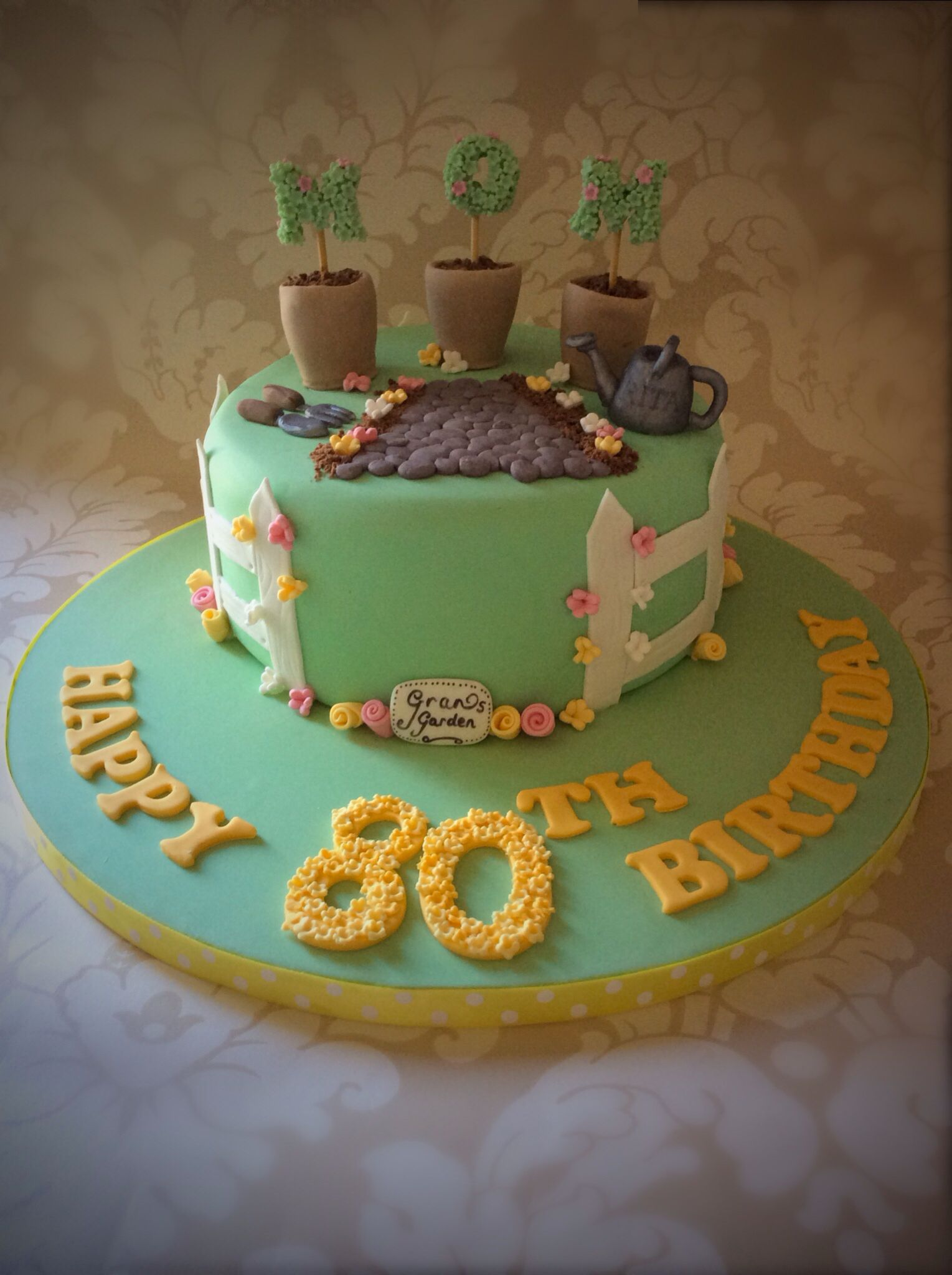 80th birthday cake Cakes - 80th Birthday Pinterest