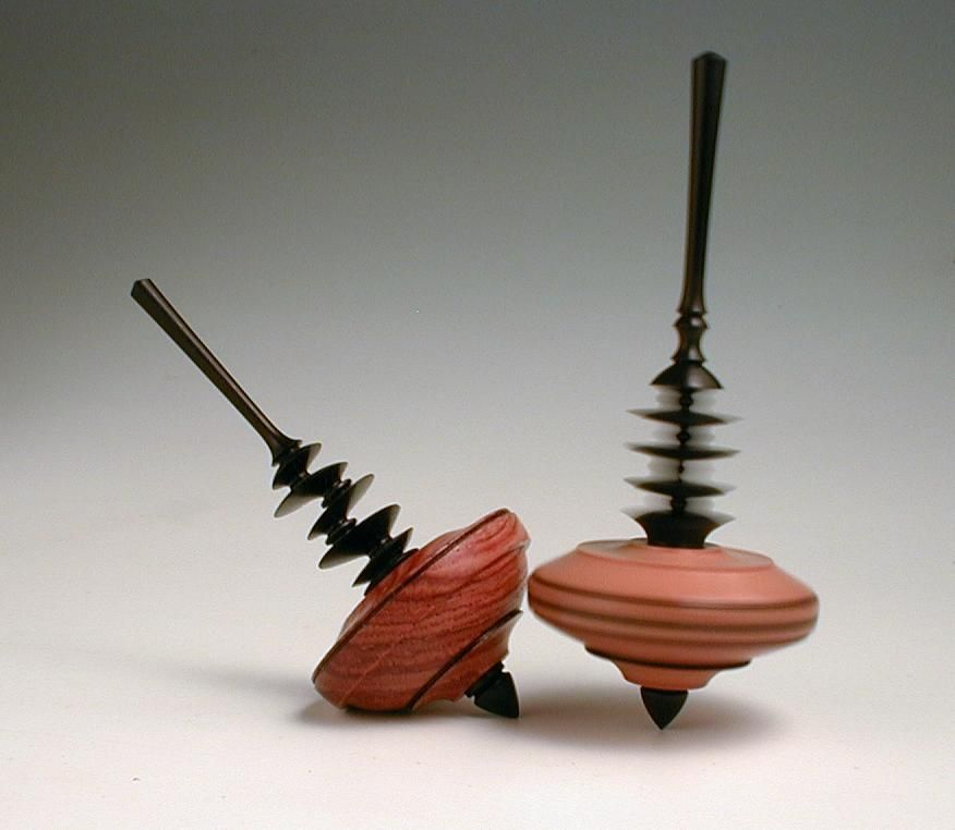 wooden spinning top | wood turning | Pinterest