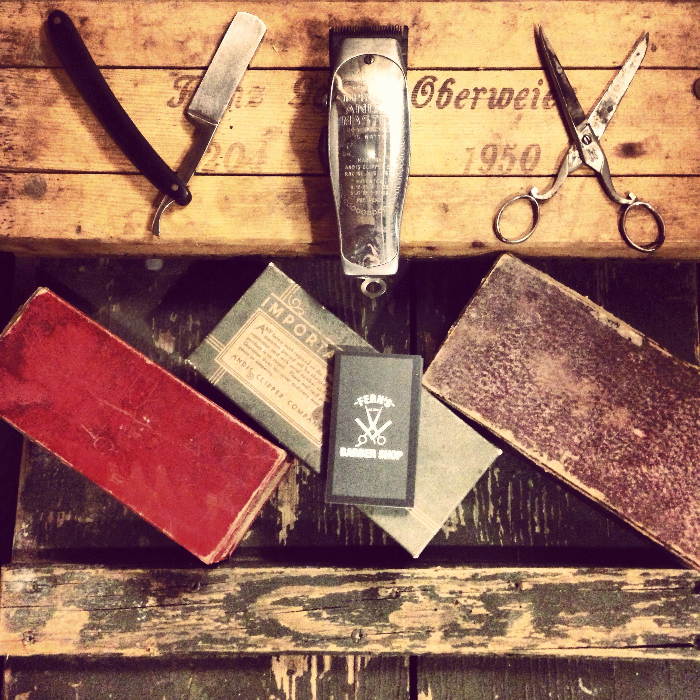 Vintage Barber Tools Barber Pinterest