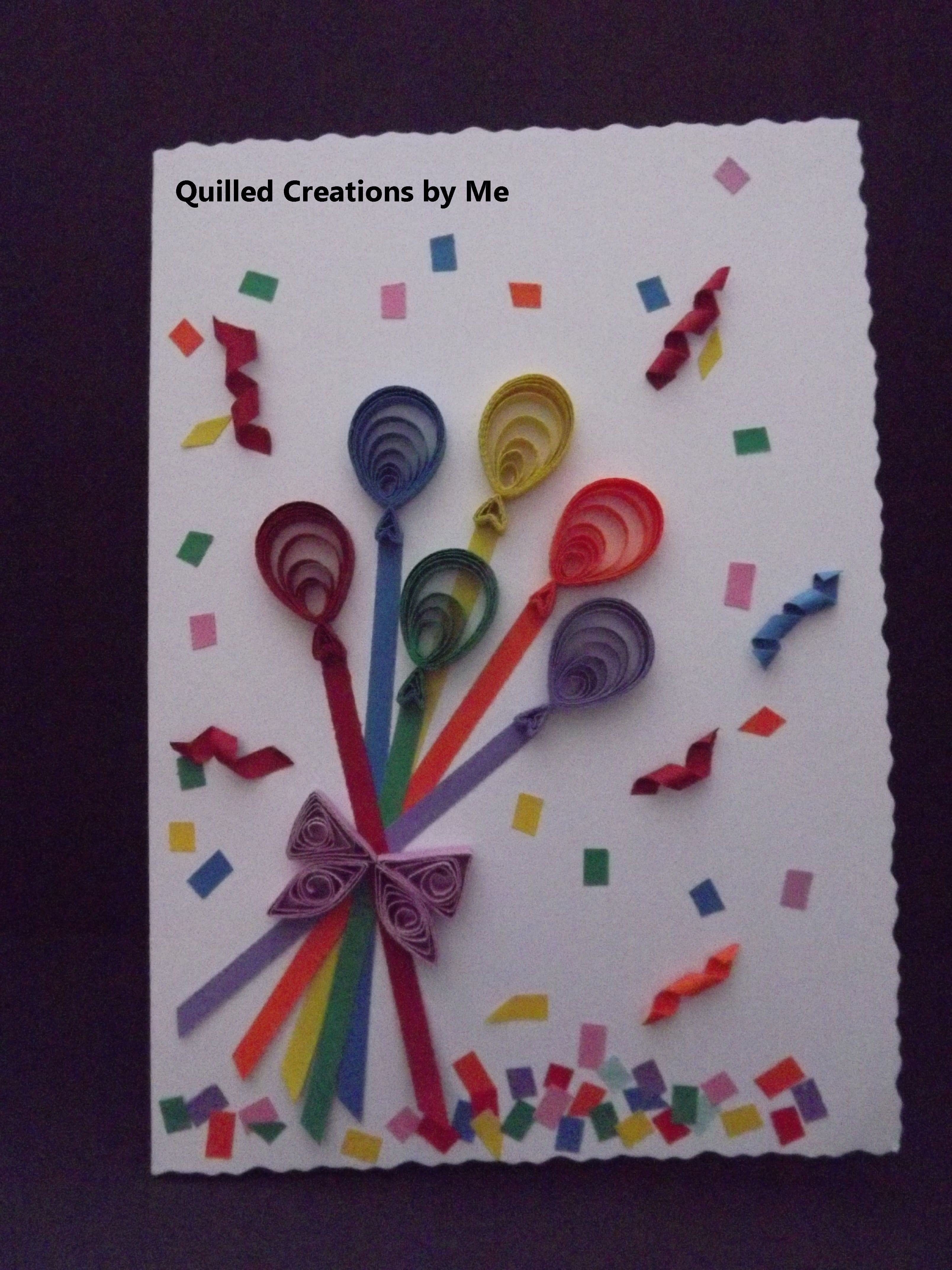 Quilled greeting card | Quilling | Pinterest