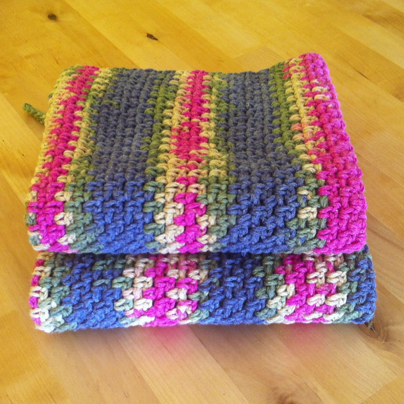Crocheting Dish Towels : Dish towels in crochet vowen stitch. Crafty Hooker! Pinterest
