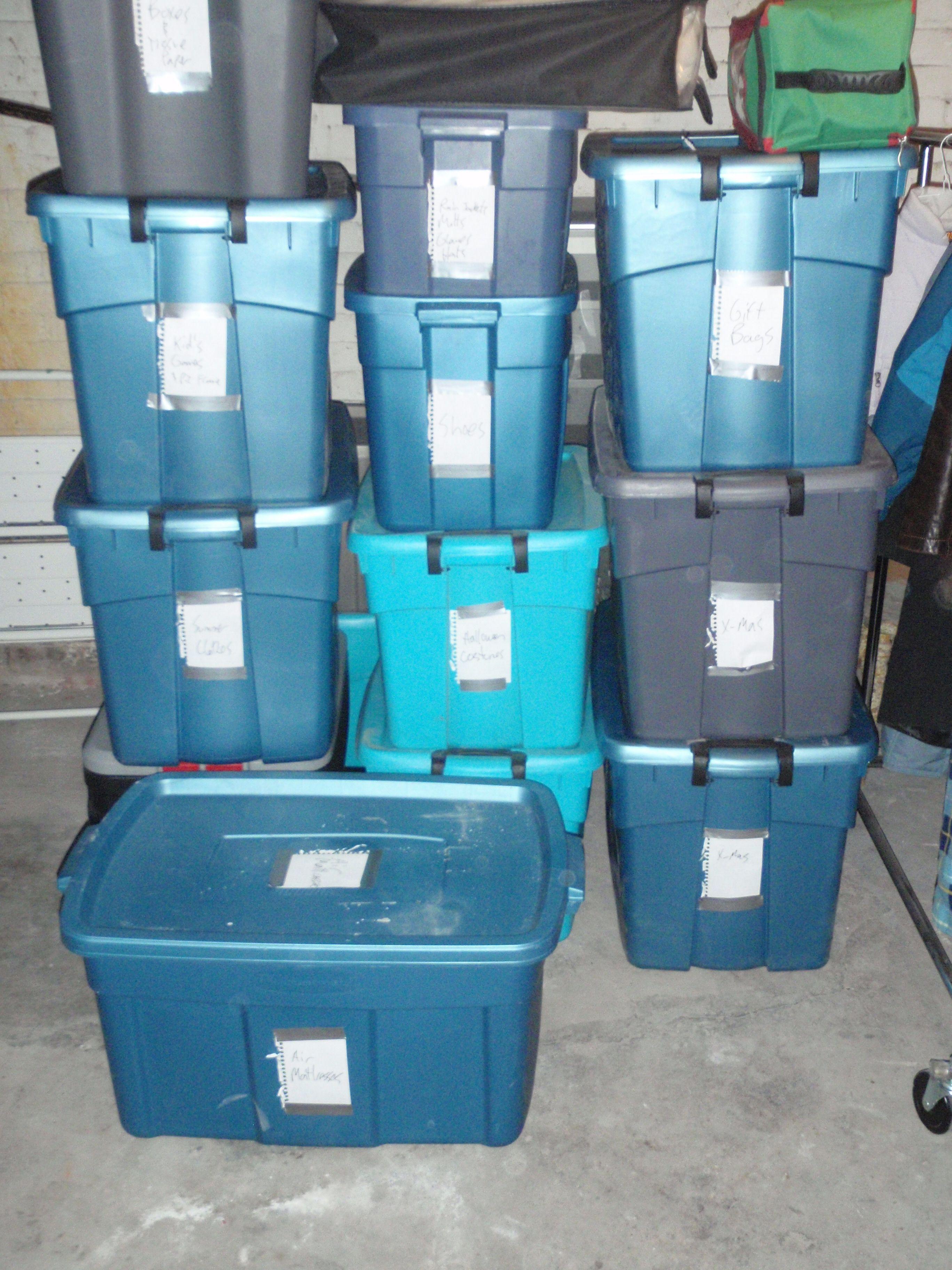 Image Result For Storage Bins For Shelves