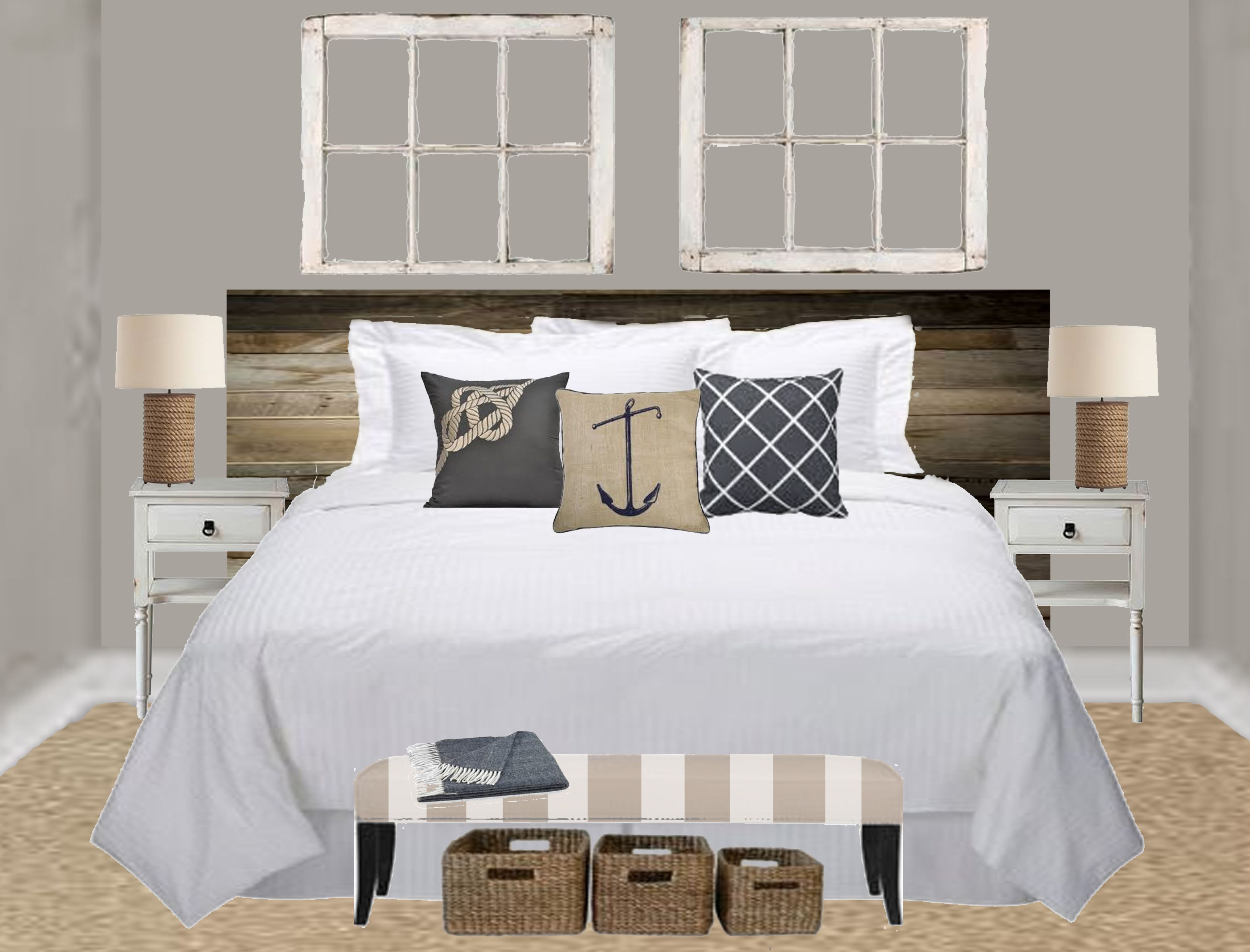 nautical master bedroom concept for the love of home decor pin